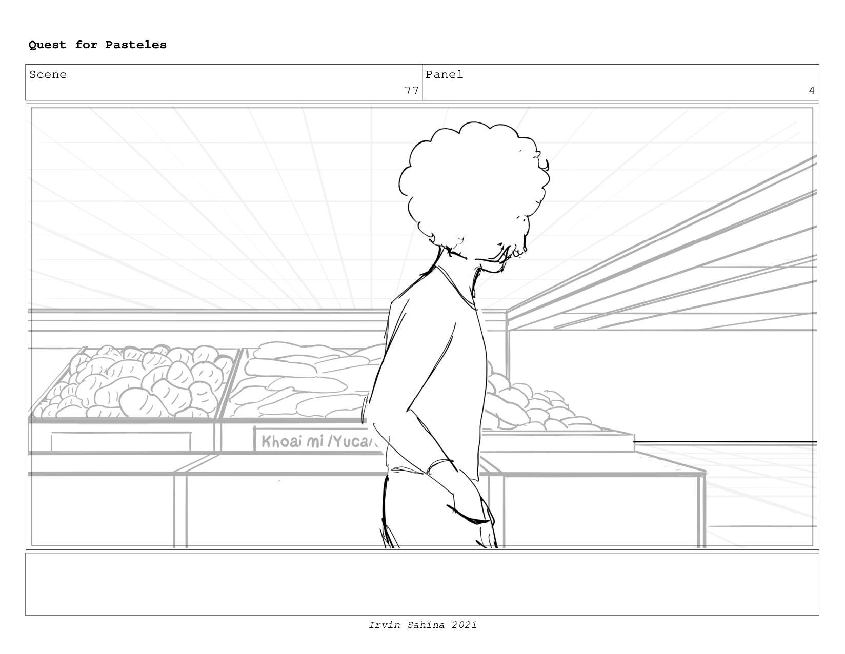 Scene 80 Panel 1 Quest for Pasteles Irvin Sahin...