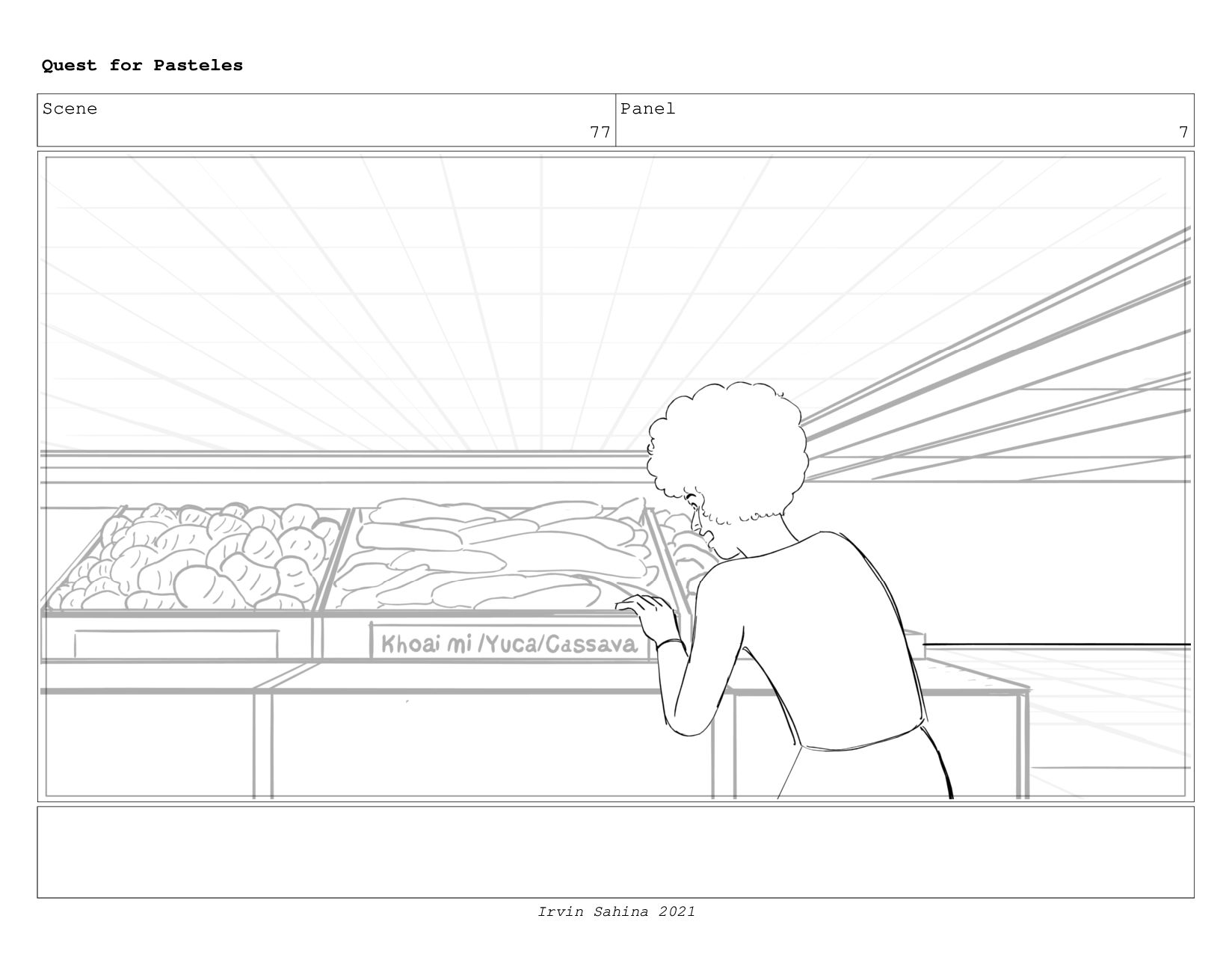Scene 81 Panel 1 Quest for Pasteles Irvin Sahin...