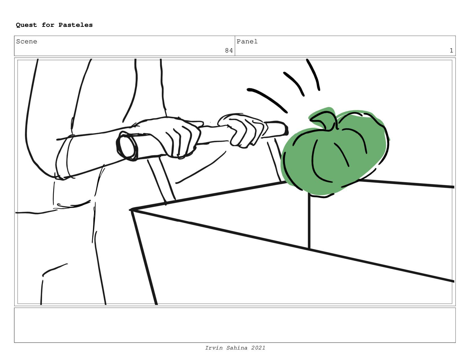 Scene 91 Panel 1 Quest for Pasteles Irvin Sahin...