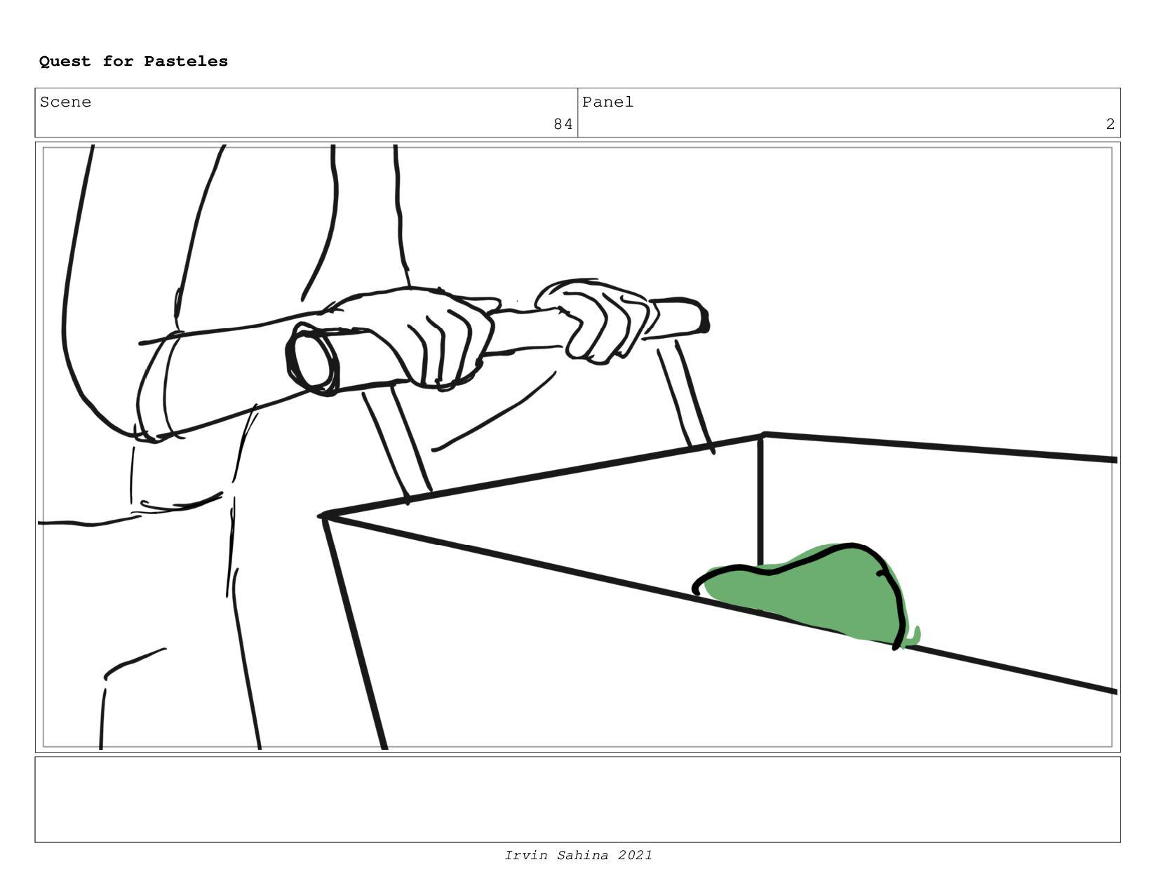 Scene 91 Panel 2 Quest for Pasteles Irvin Sahin...