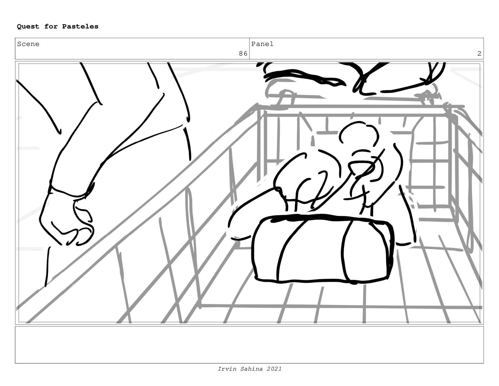 Scene 92 Panel 3 Quest for Pasteles Irvin Sahin...