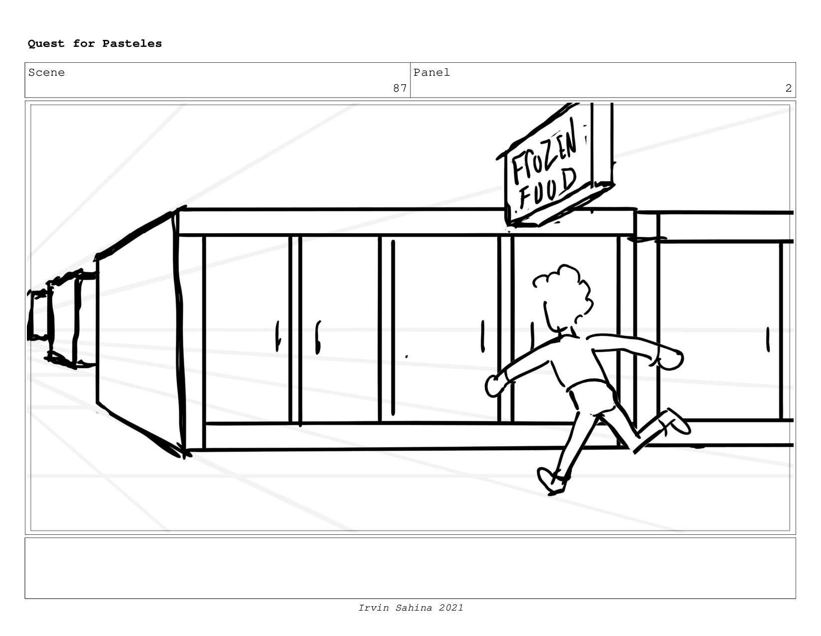 Scene 93 Panel 1 Quest for Pasteles Irvin Sahin...