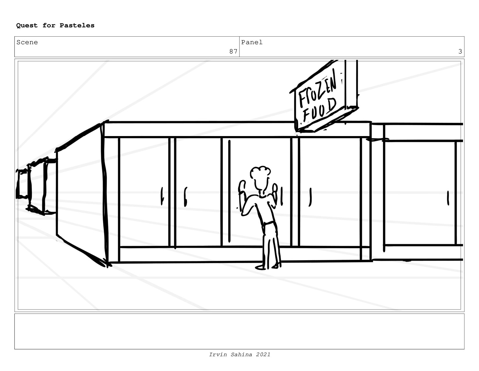 Scene 93 Panel 2 Quest for Pasteles Irvin Sahin...
