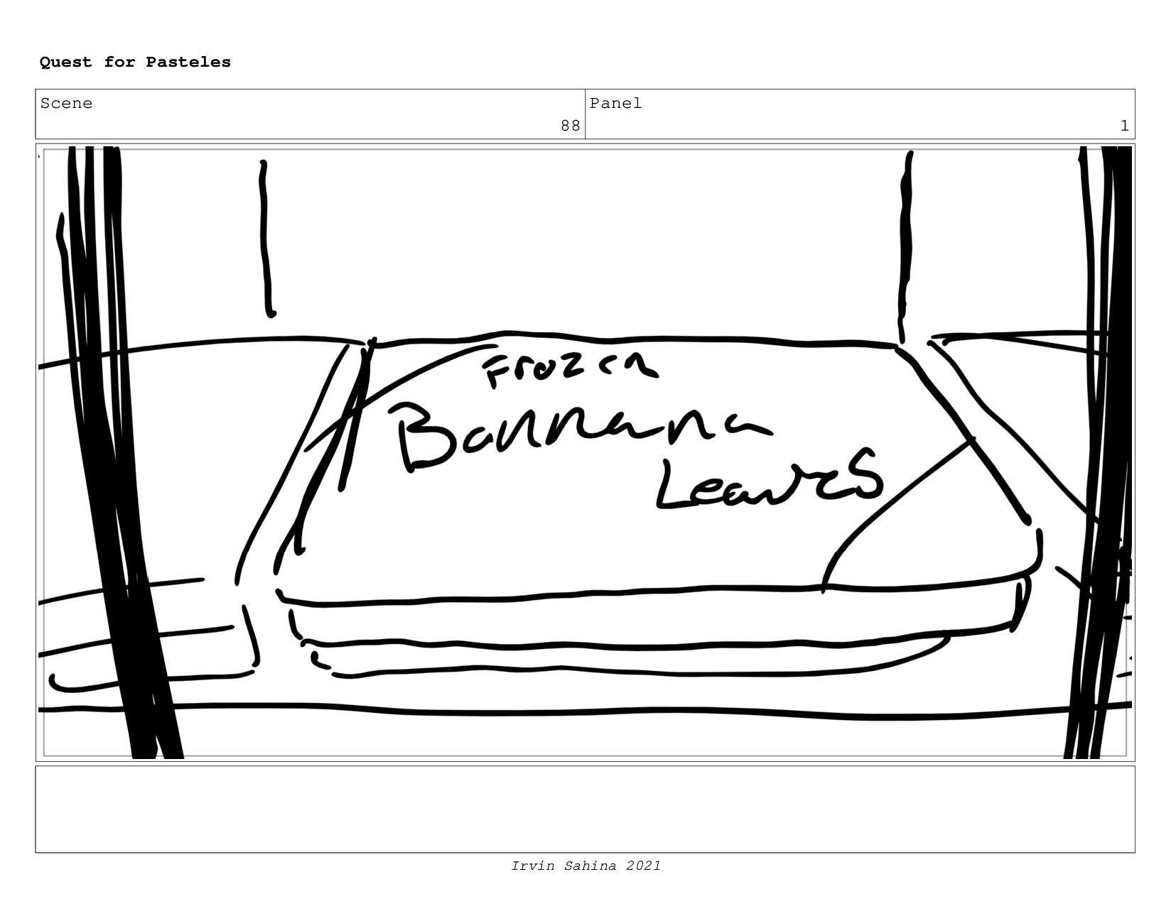 Scene 93 Panel 3 Quest for Pasteles Irvin Sahin...