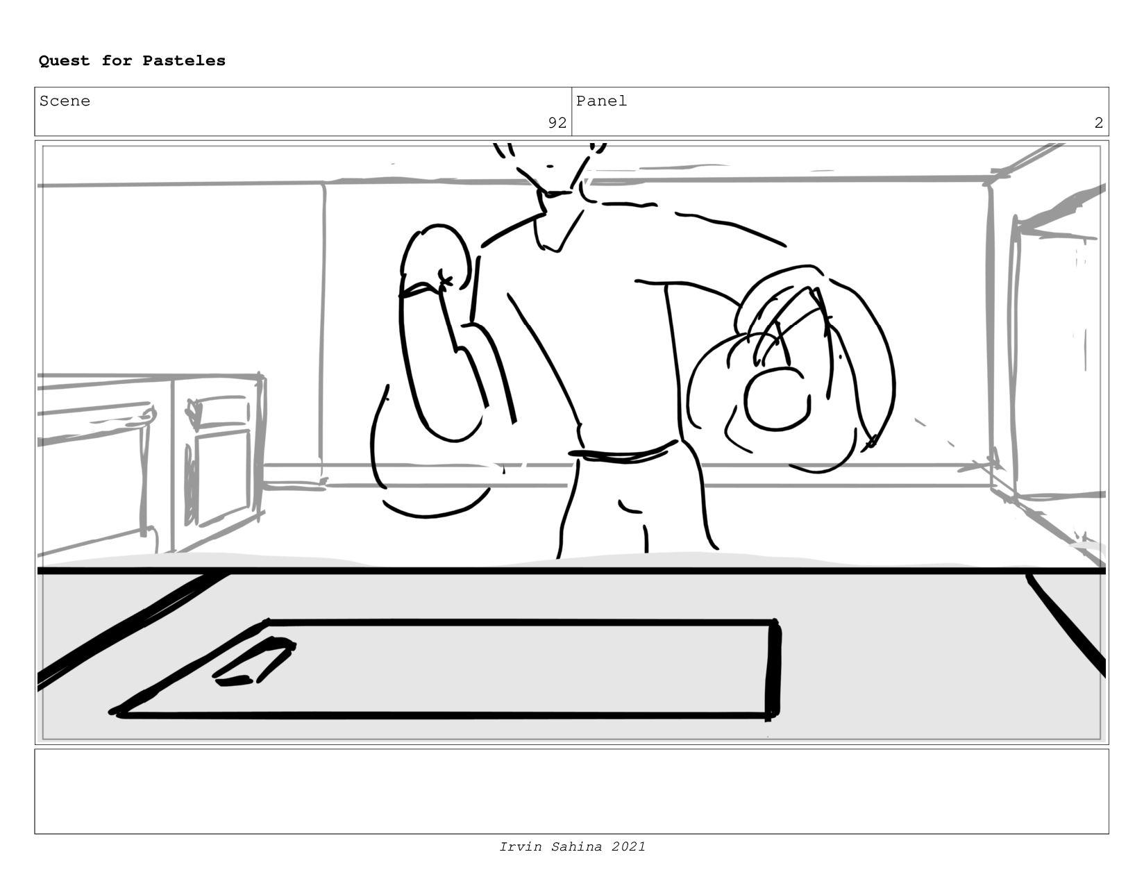 Scene 97 Panel 1 Quest for Pasteles Irvin Sahin...