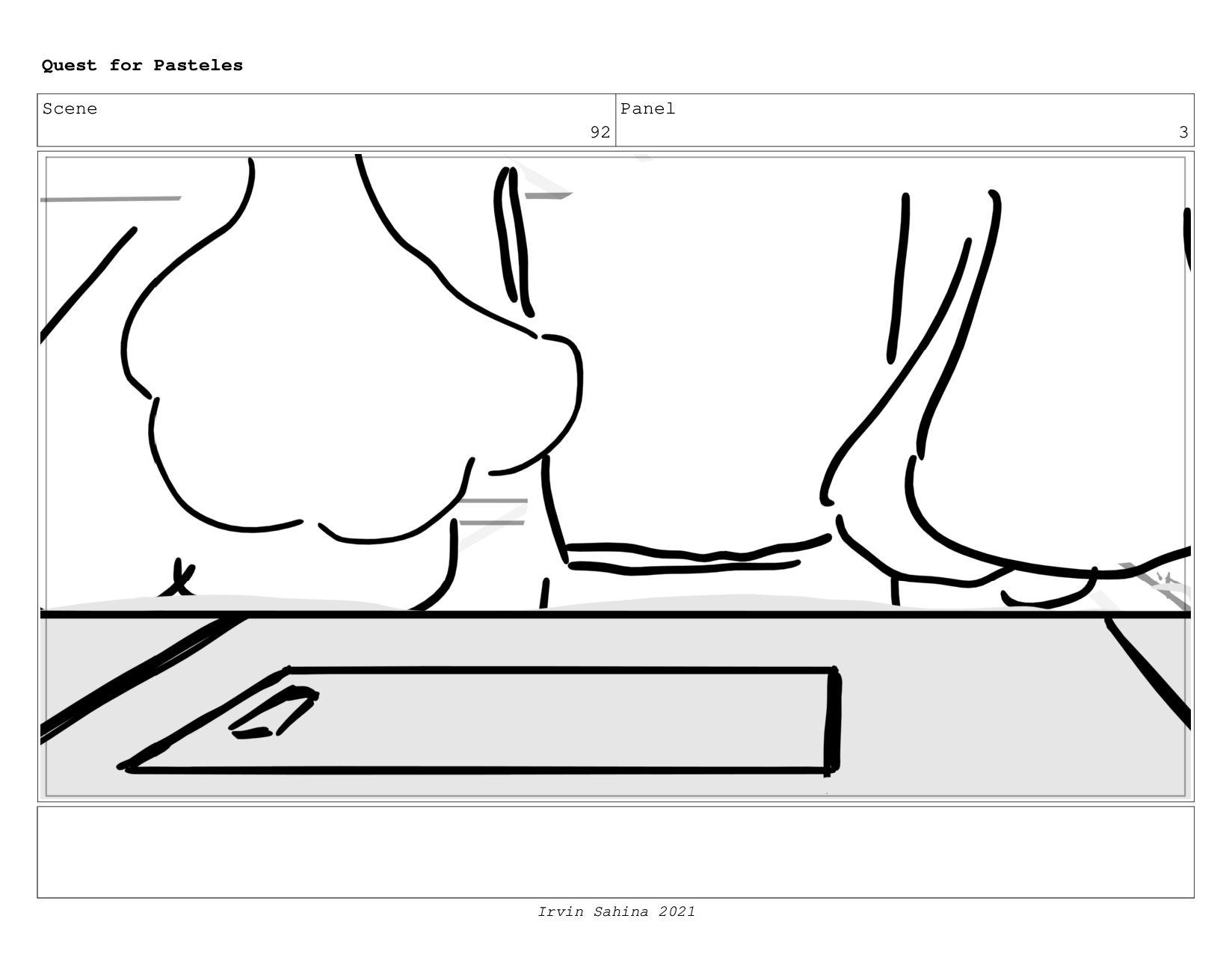 Scene 97 Panel 2 Quest for Pasteles Irvin Sahin...
