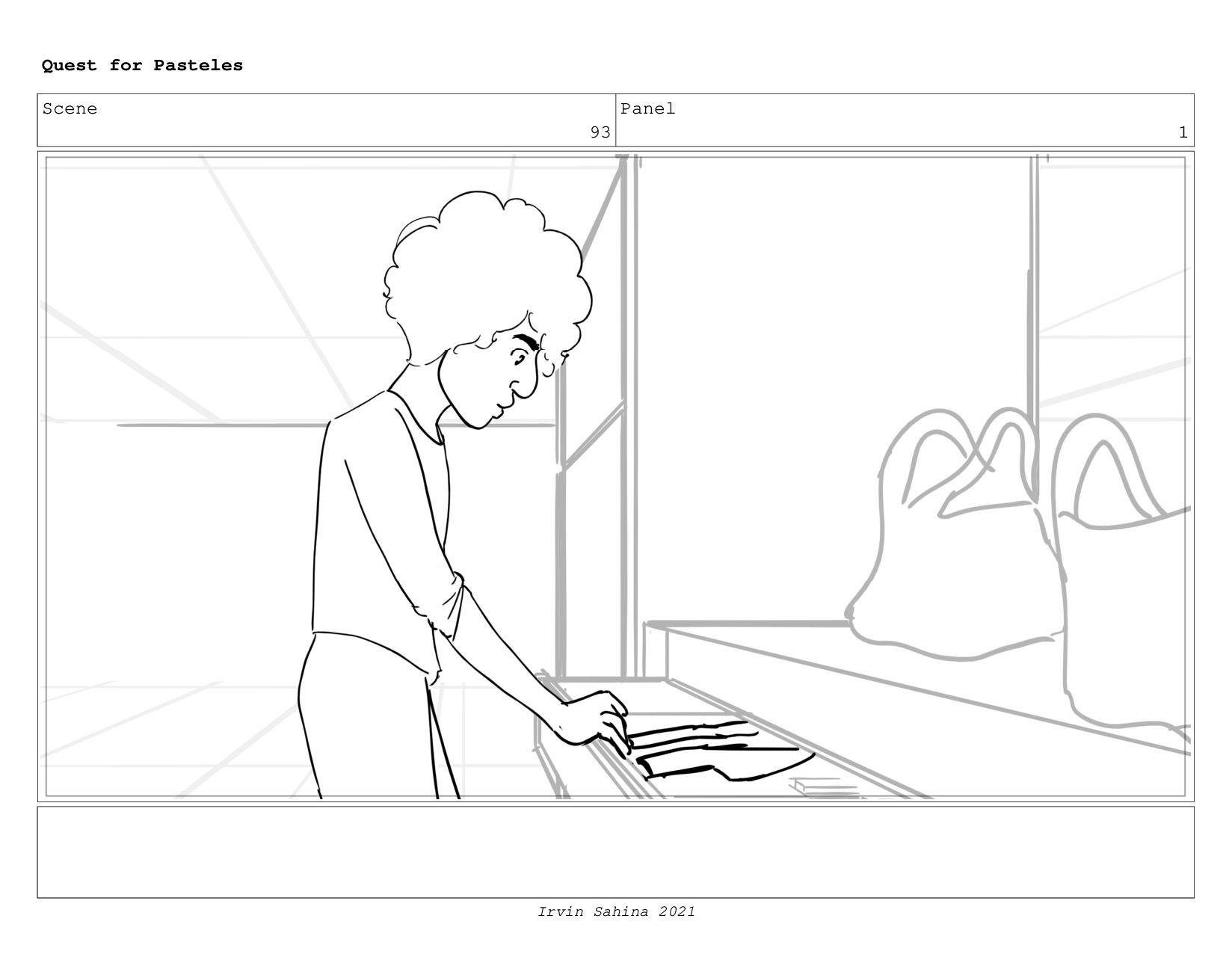 Scene 98 Panel 1 Quest for Pasteles Irvin Sahin...