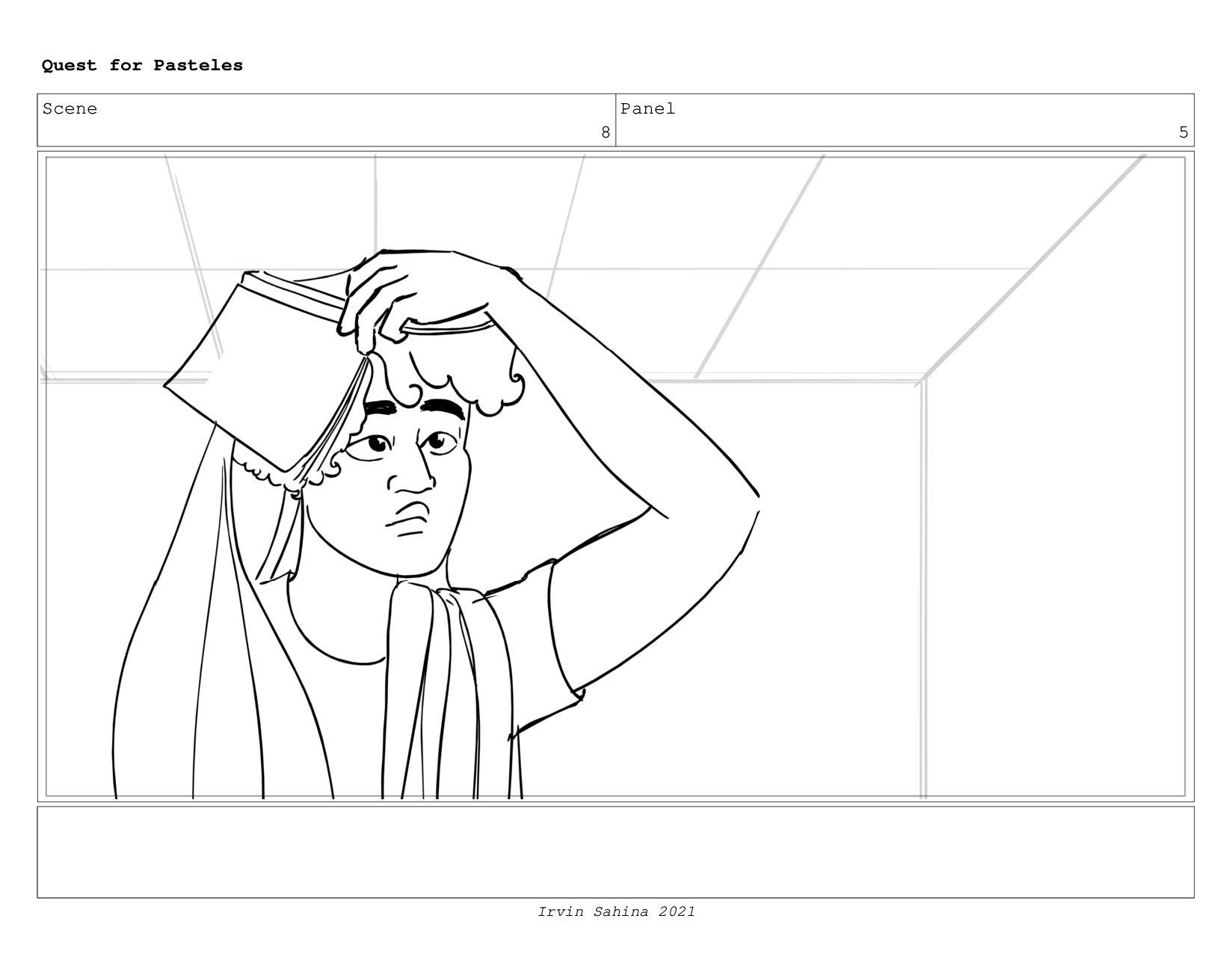 Scene 8 Panel 2 Quest for Pasteles Irvin Sahina...