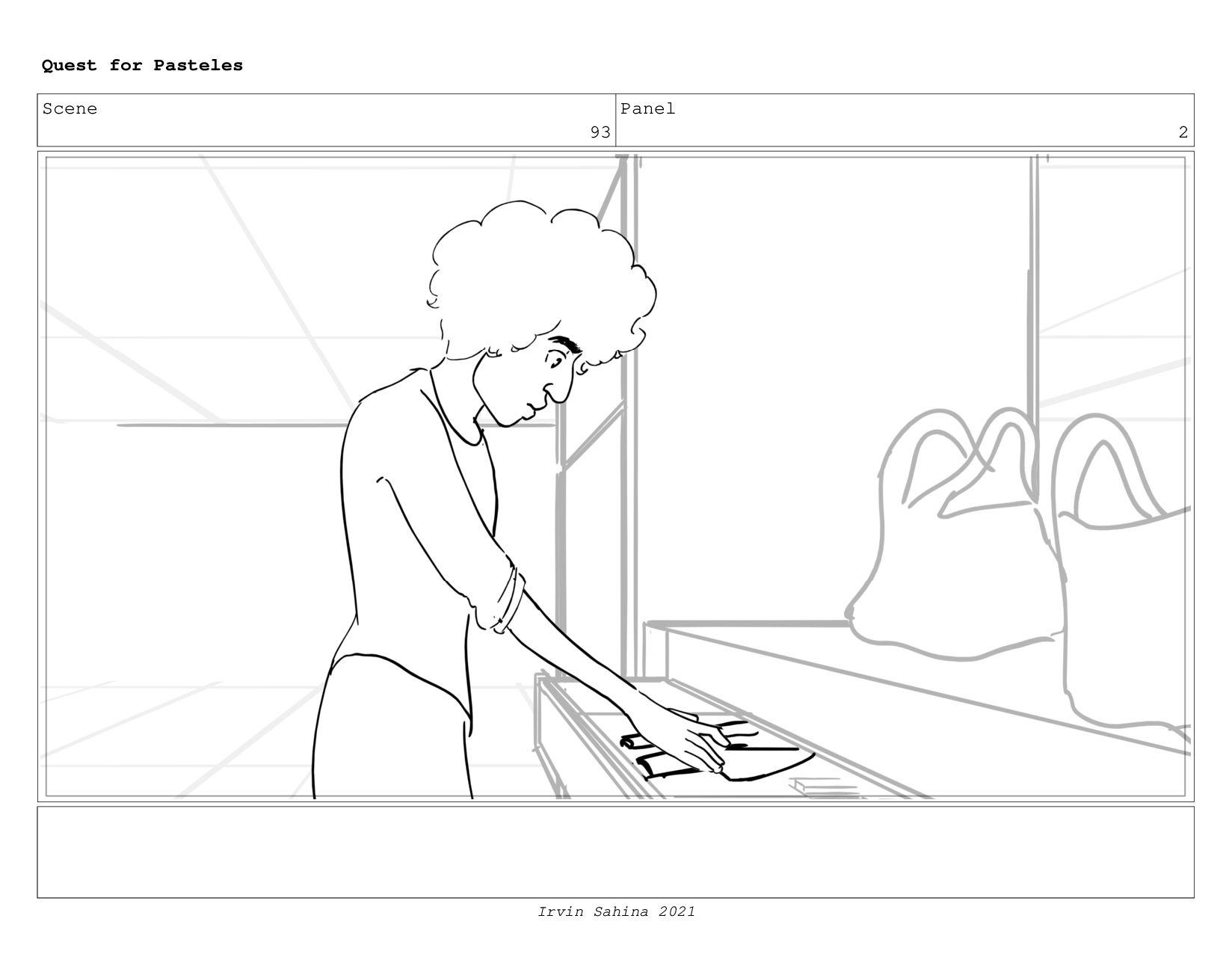 Scene 98 Panel 2 Quest for Pasteles Irvin Sahin...