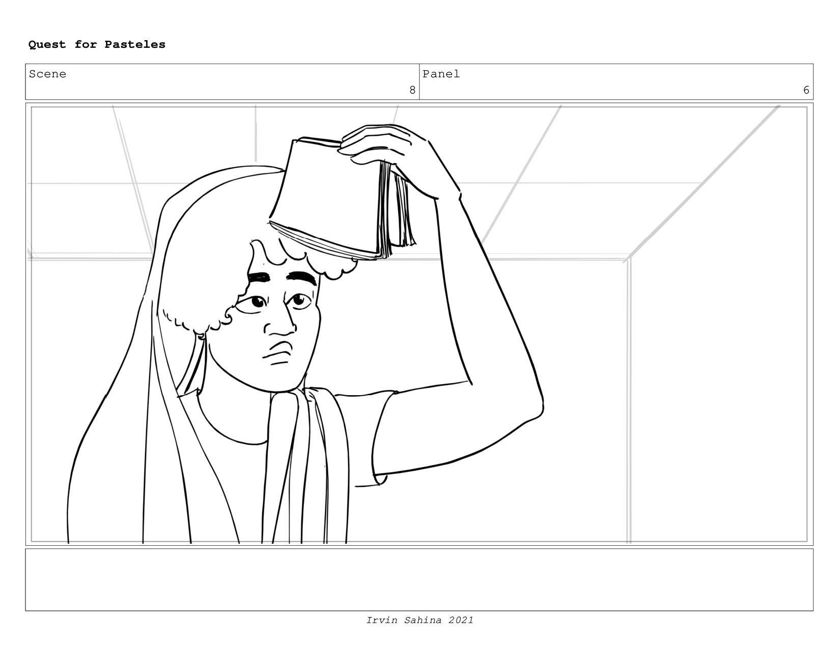 Scene 8 Panel 3 Quest for Pasteles Irvin Sahina...