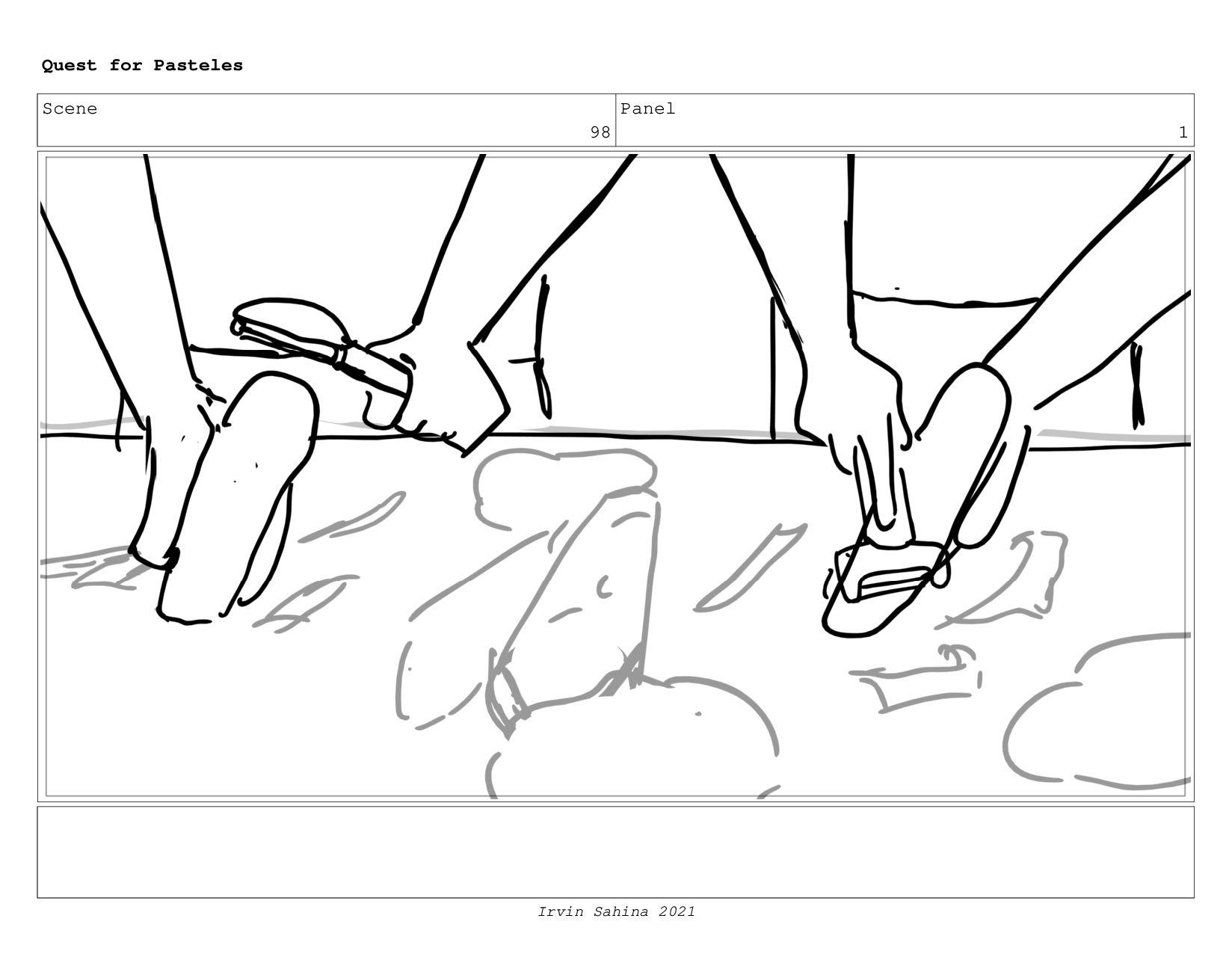 Scene 100 Panel 4 Quest for Pasteles Irvin Sahi...
