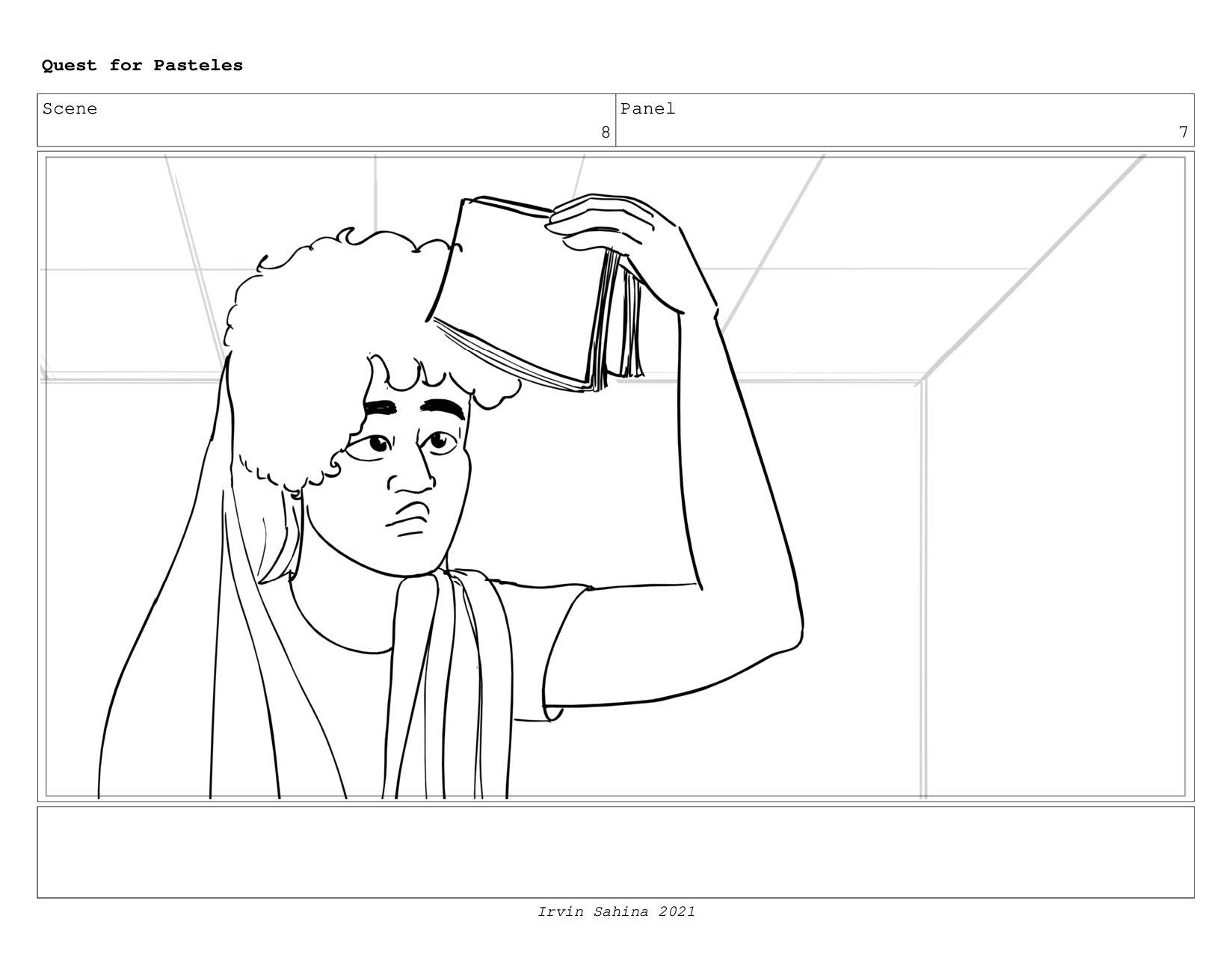 Scene 8 Panel 4 Quest for Pasteles Irvin Sahina...