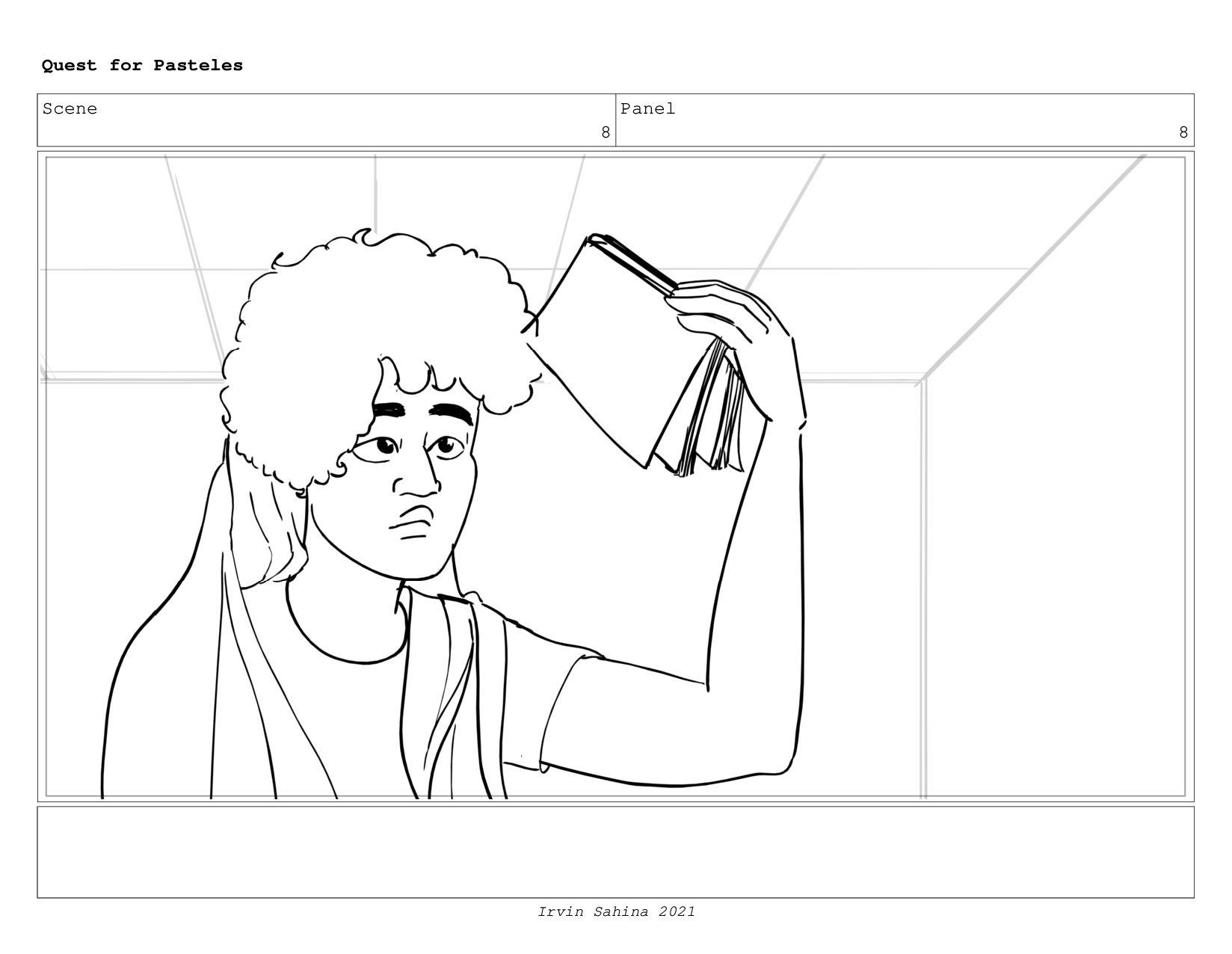 Scene 8 Panel 5 Quest for Pasteles Irvin Sahina...