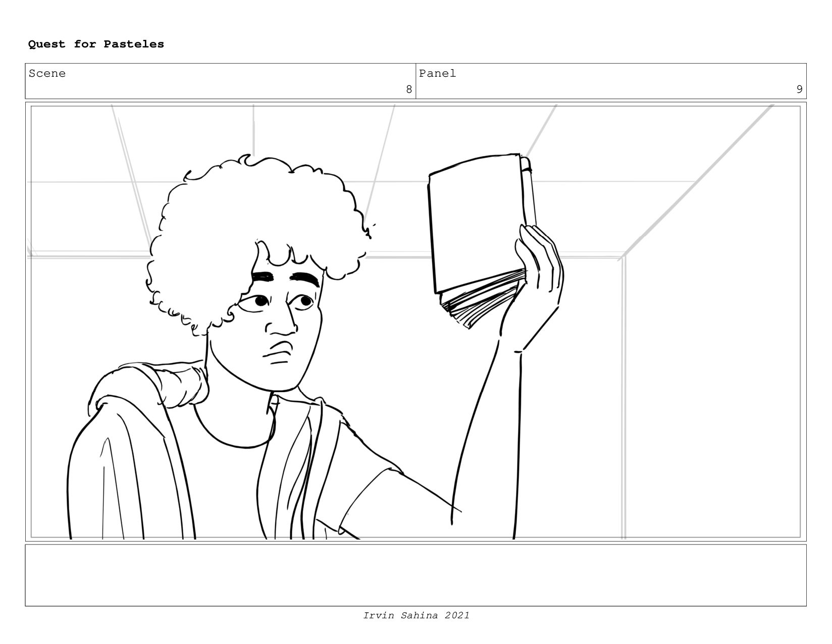Scene 8 Panel 6 Quest for Pasteles Irvin Sahina...