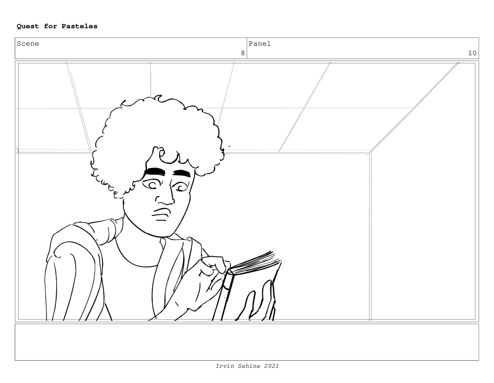 Scene 8 Panel 7 Quest for Pasteles Irvin Sahina...