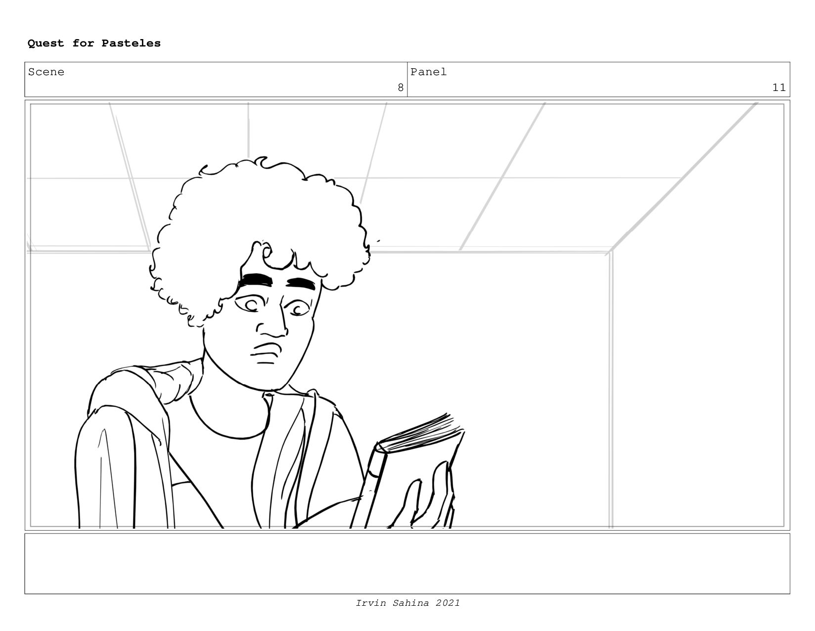 Scene 8 Panel 8 Quest for Pasteles Irvin Sahina...