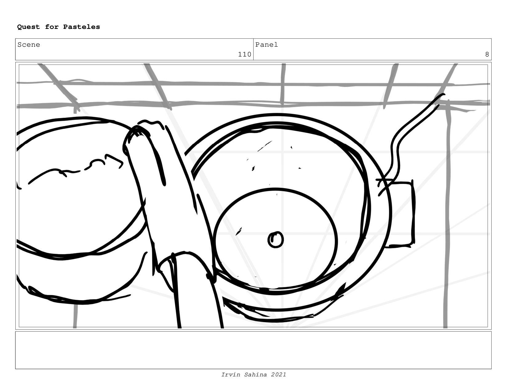 Scene 114 Panel 2 Quest for Pasteles Irvin Sahi...
