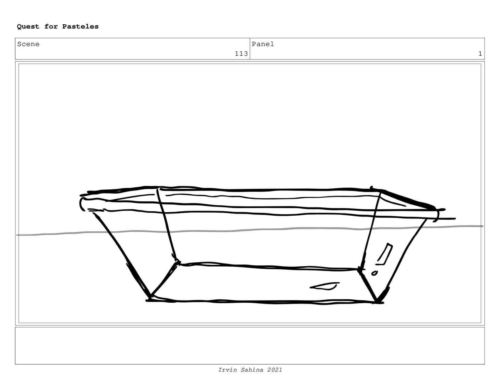 Scene 116 Panel 3 Quest for Pasteles Irvin Sahi...