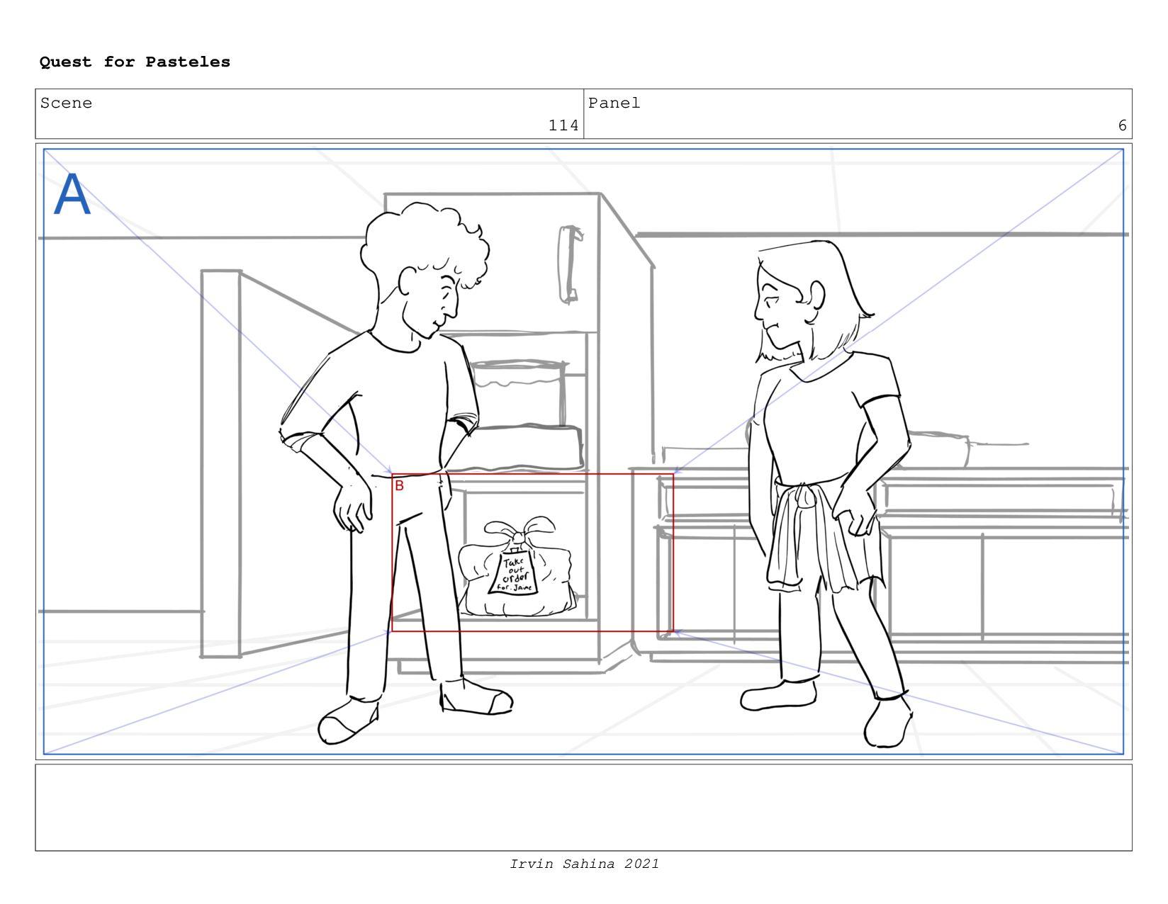 Scene 120 Panel 2 Quest for Pasteles Irvin Sahi...