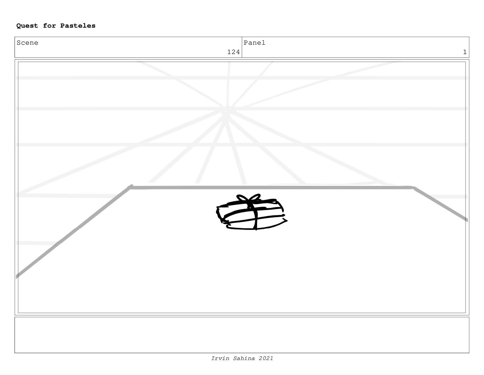 Scene 131 Panel 1 Quest for Pasteles Irvin Sahi...
