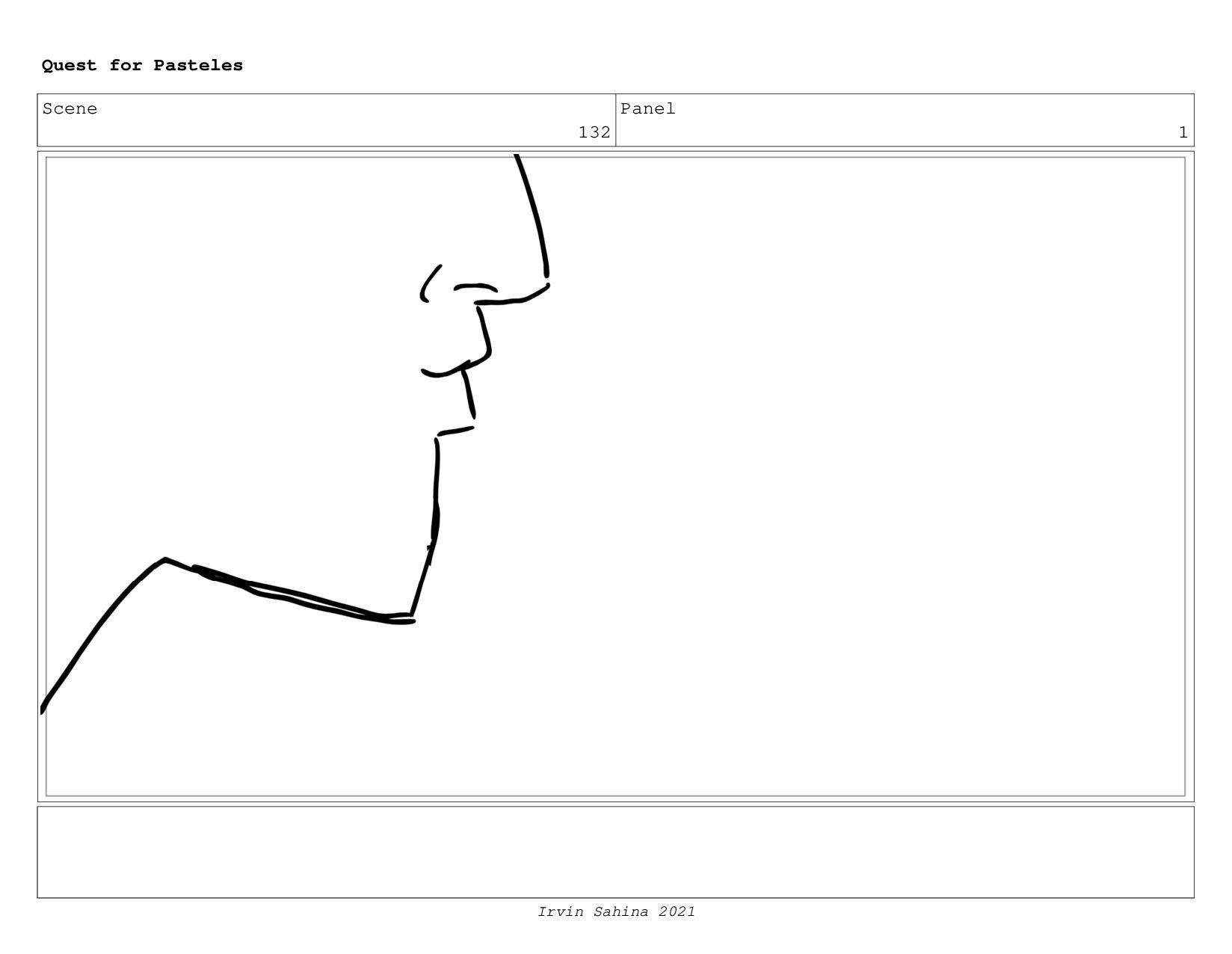 Scene 135 Panel 5 Quest for Pasteles Irvin Sahi...