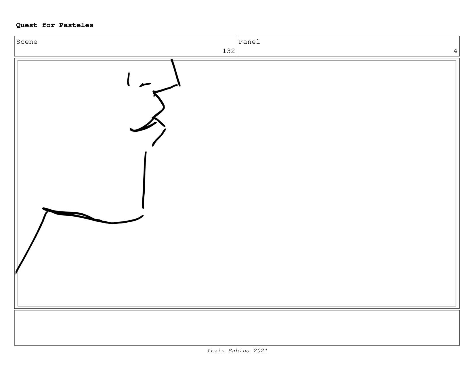 Scene 135 Panel 8 Quest for Pasteles Irvin Sahi...