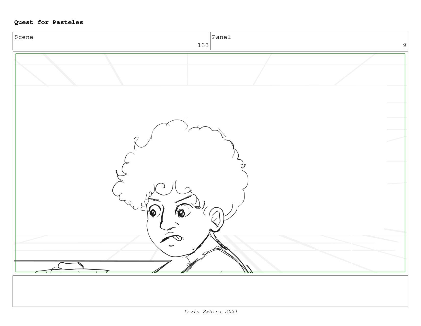 Scene 137 Panel 2 Quest for Pasteles Irvin Sahi...