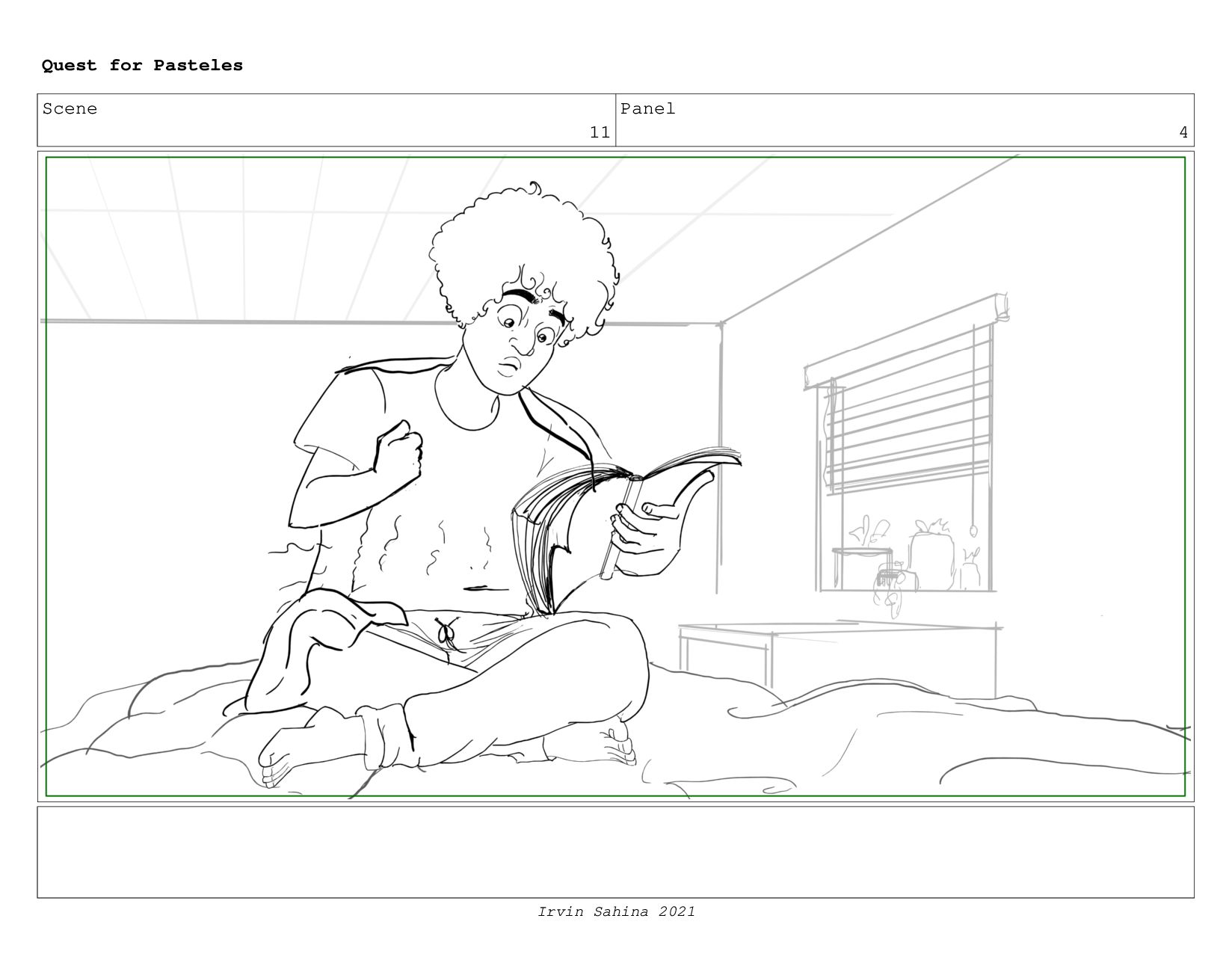 Scene 12 Panel 2 Quest for Pasteles Irvin Sahin...