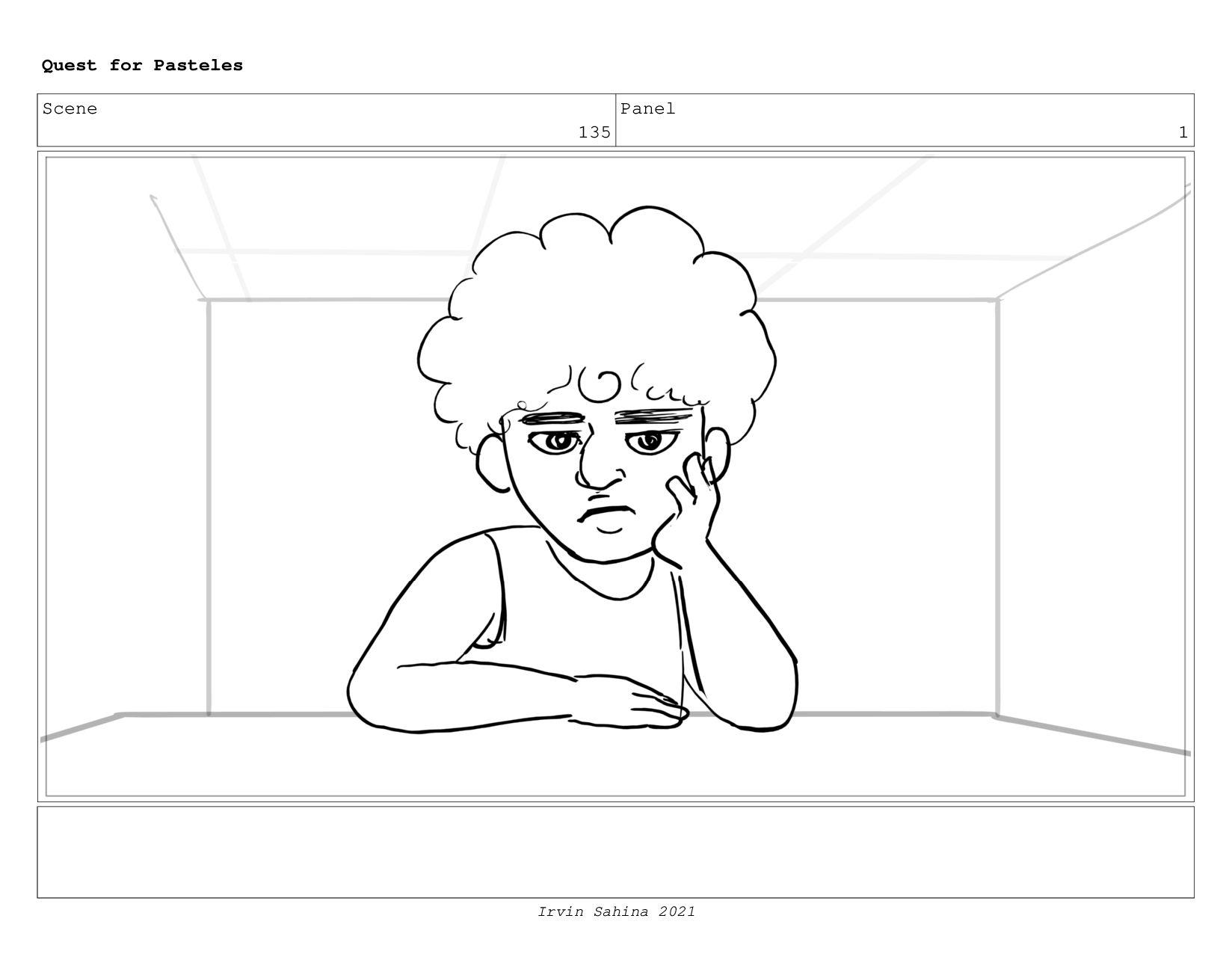 Scene 140 Panel 2 Quest for Pasteles Irvin Sahi...