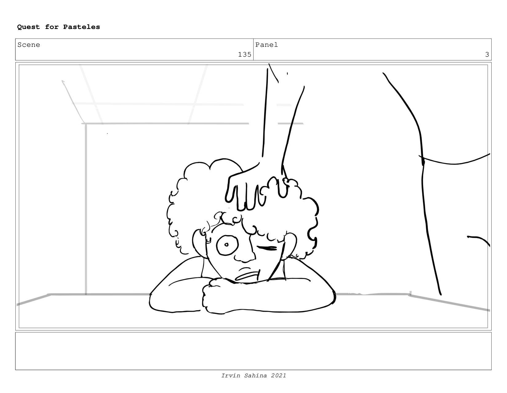 Scene 140 Panel 4 Quest for Pasteles Irvin Sahi...