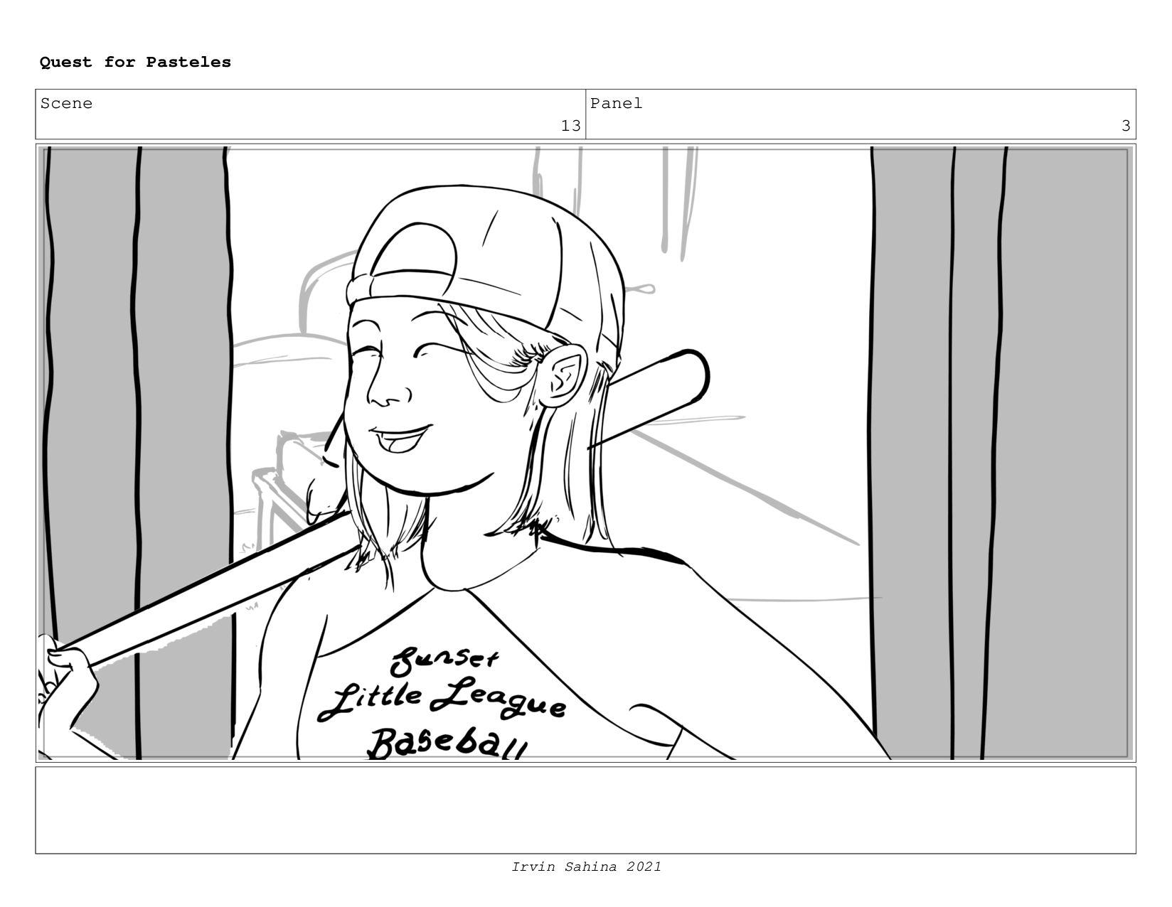 Scene 14 Panel 1 Quest for Pasteles Irvin Sahin...