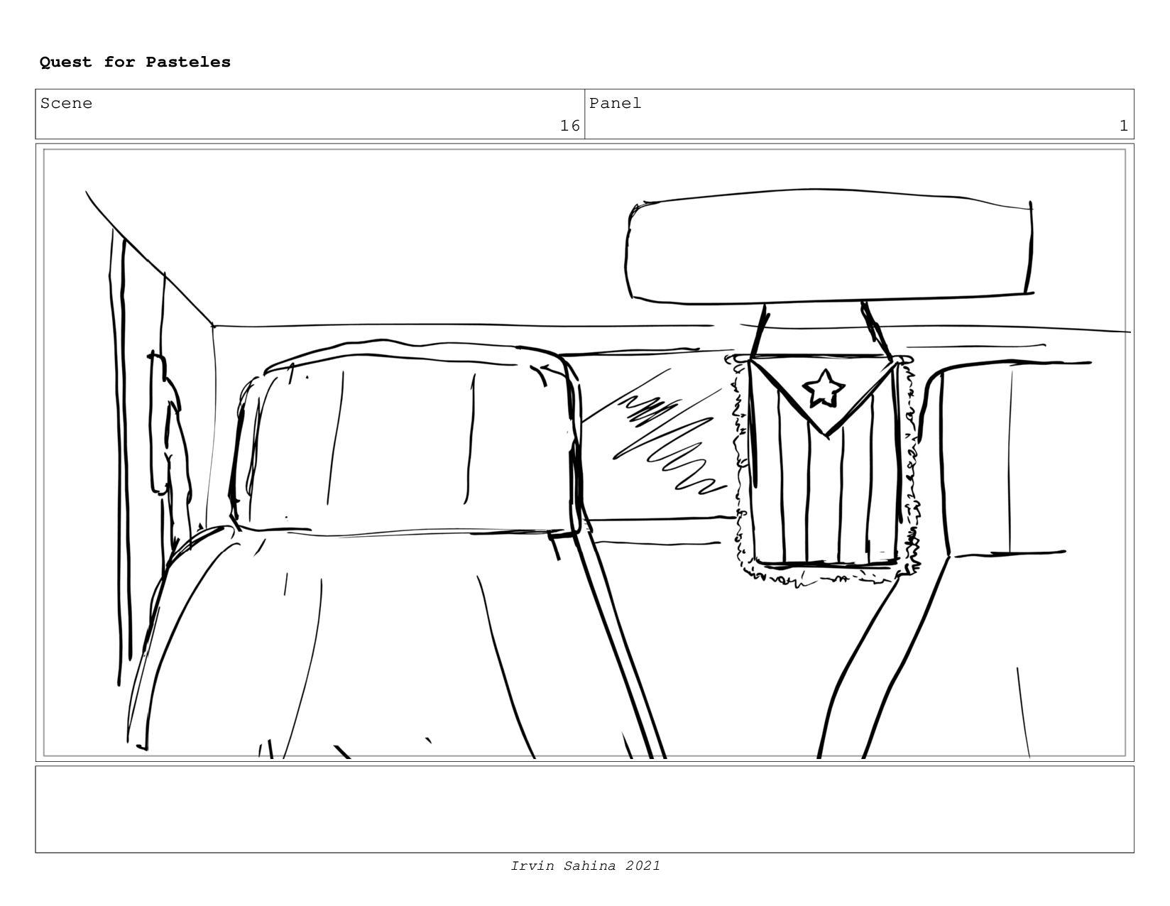 Scene 16 Panel 4 Quest for Pasteles Irvin Sahin...