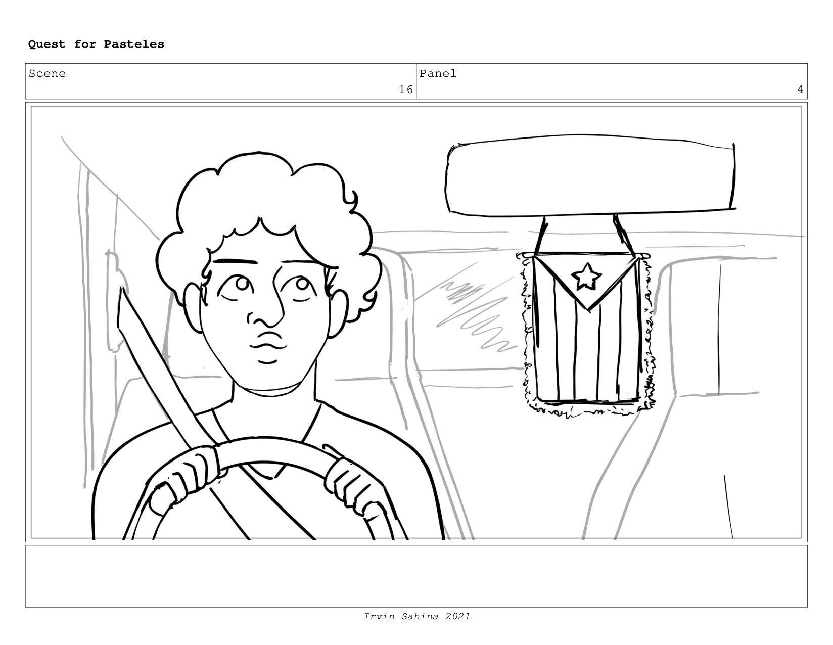 Scene 17 Panel 2 Quest for Pasteles Irvin Sahin...