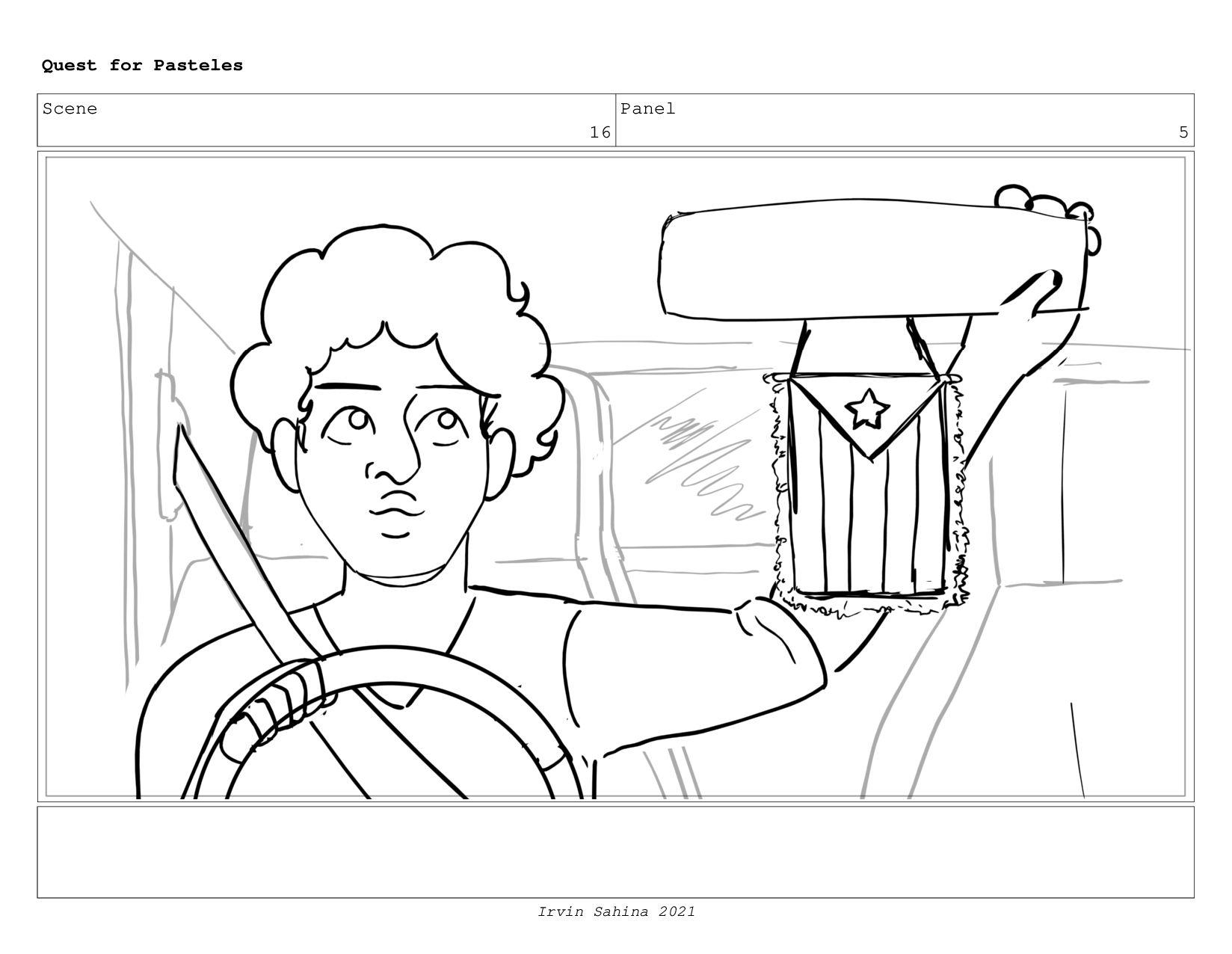 Scene 17 Panel 3 Quest for Pasteles Irvin Sahin...
