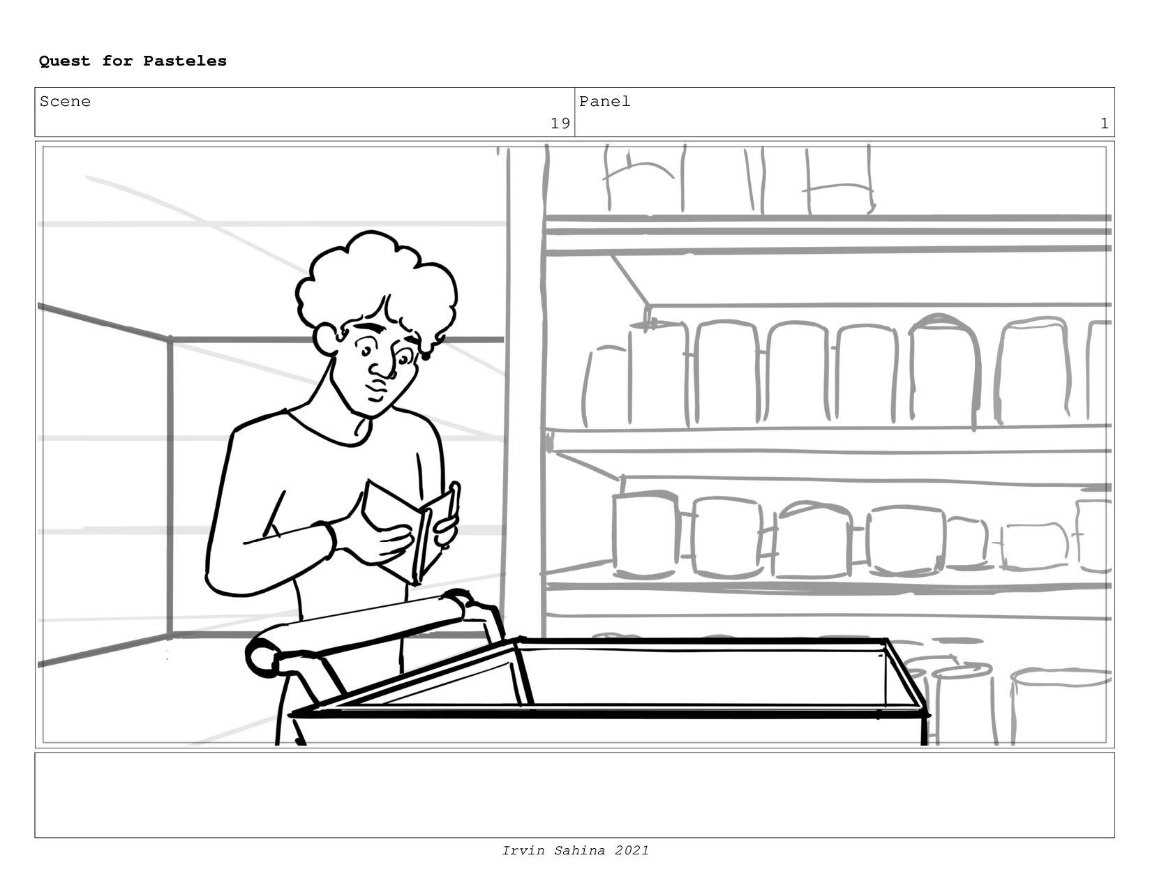 Scene 21 Panel 2 Quest for Pasteles Irvin Sahin...