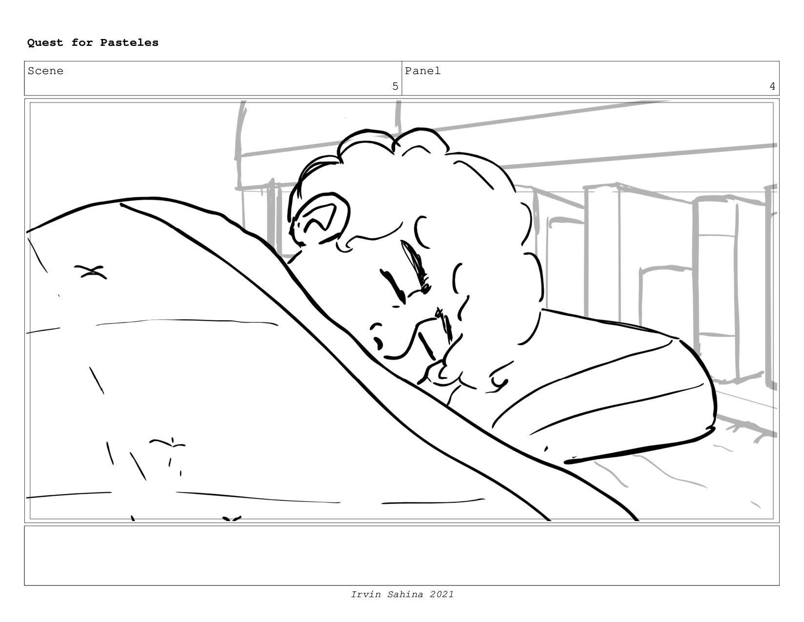 Scene 4 Panel 1 Quest for Pasteles Irvin Sahina...