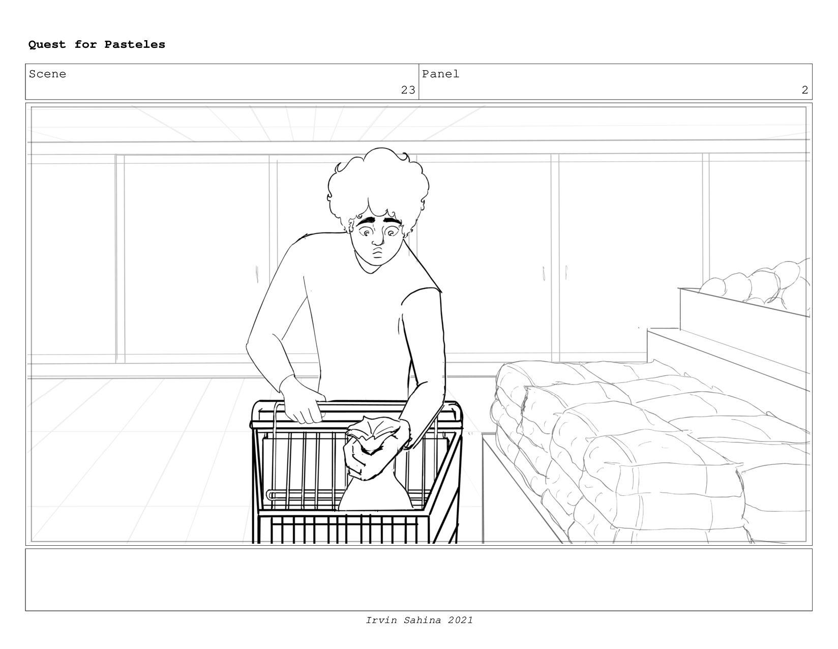 Scene 24 Panel 3 Quest for Pasteles Irvin Sahin...