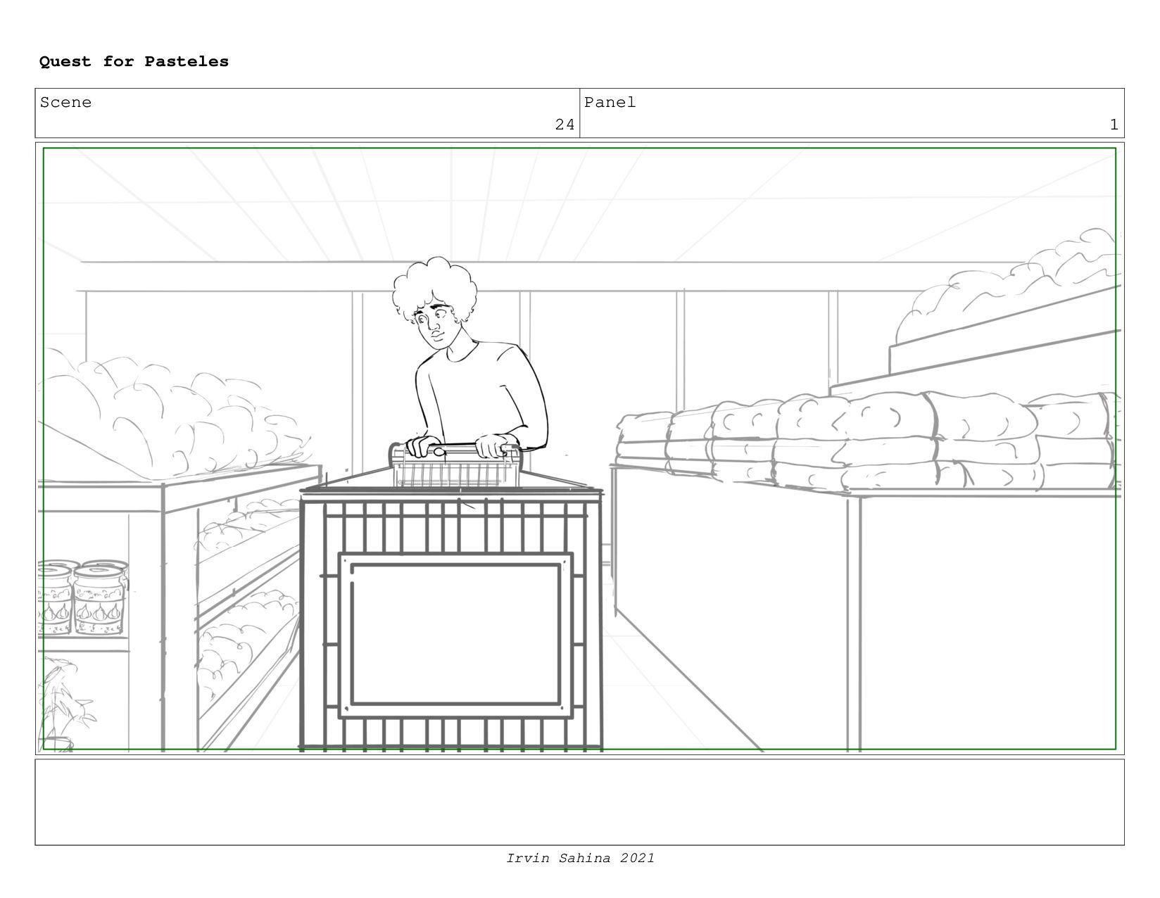 Scene 24 Panel 4 Quest for Pasteles Irvin Sahin...