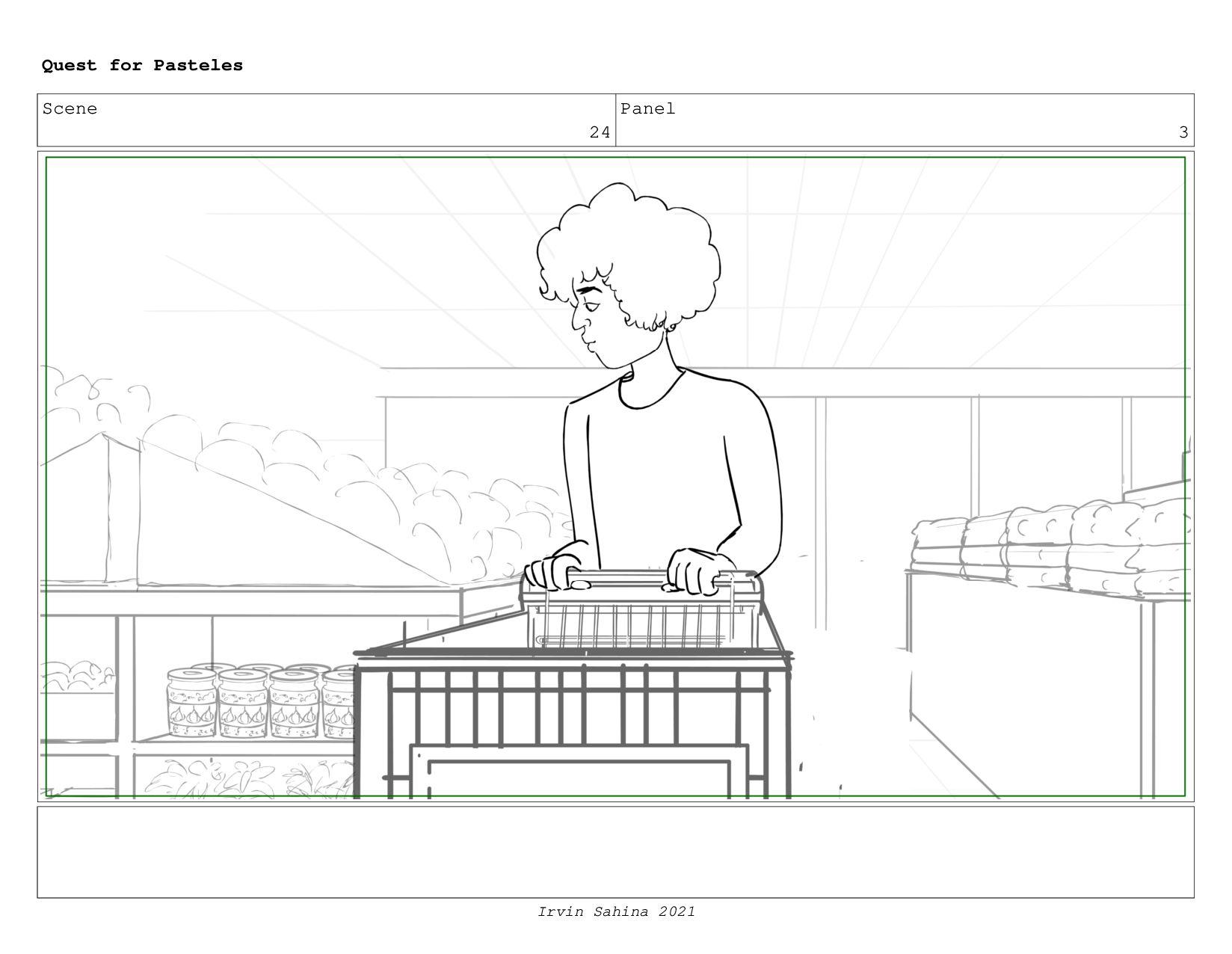 Scene 25 Panel 2 Quest for Pasteles Irvin Sahin...
