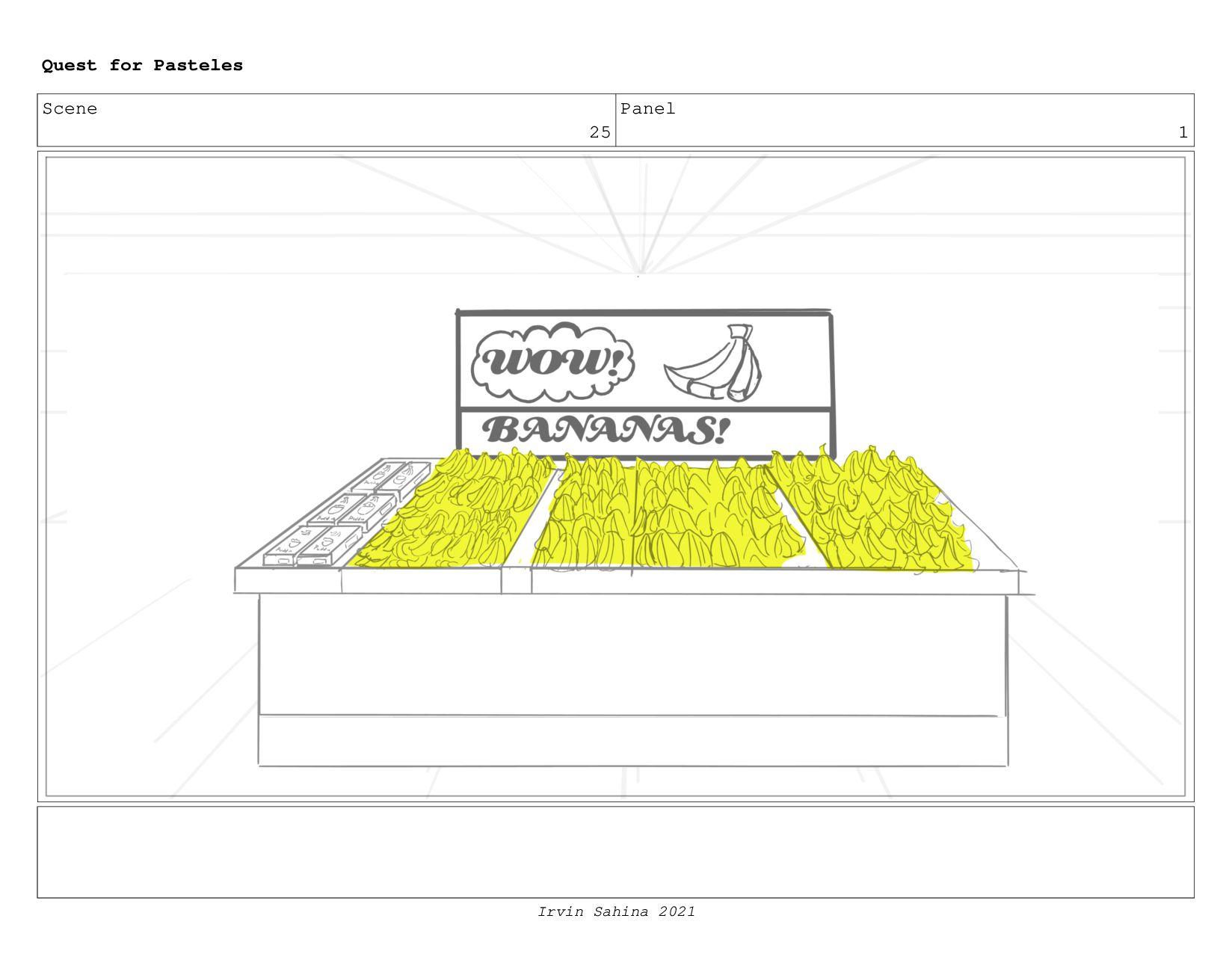 Scene 27 Panel 1 Quest for Pasteles Irvin Sahin...