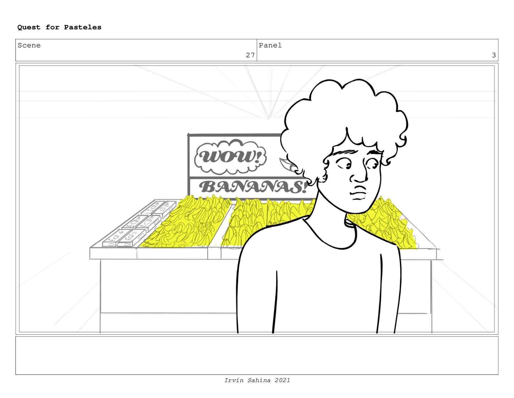 Scene 30 Panel 1 Quest for Pasteles Irvin Sahin...