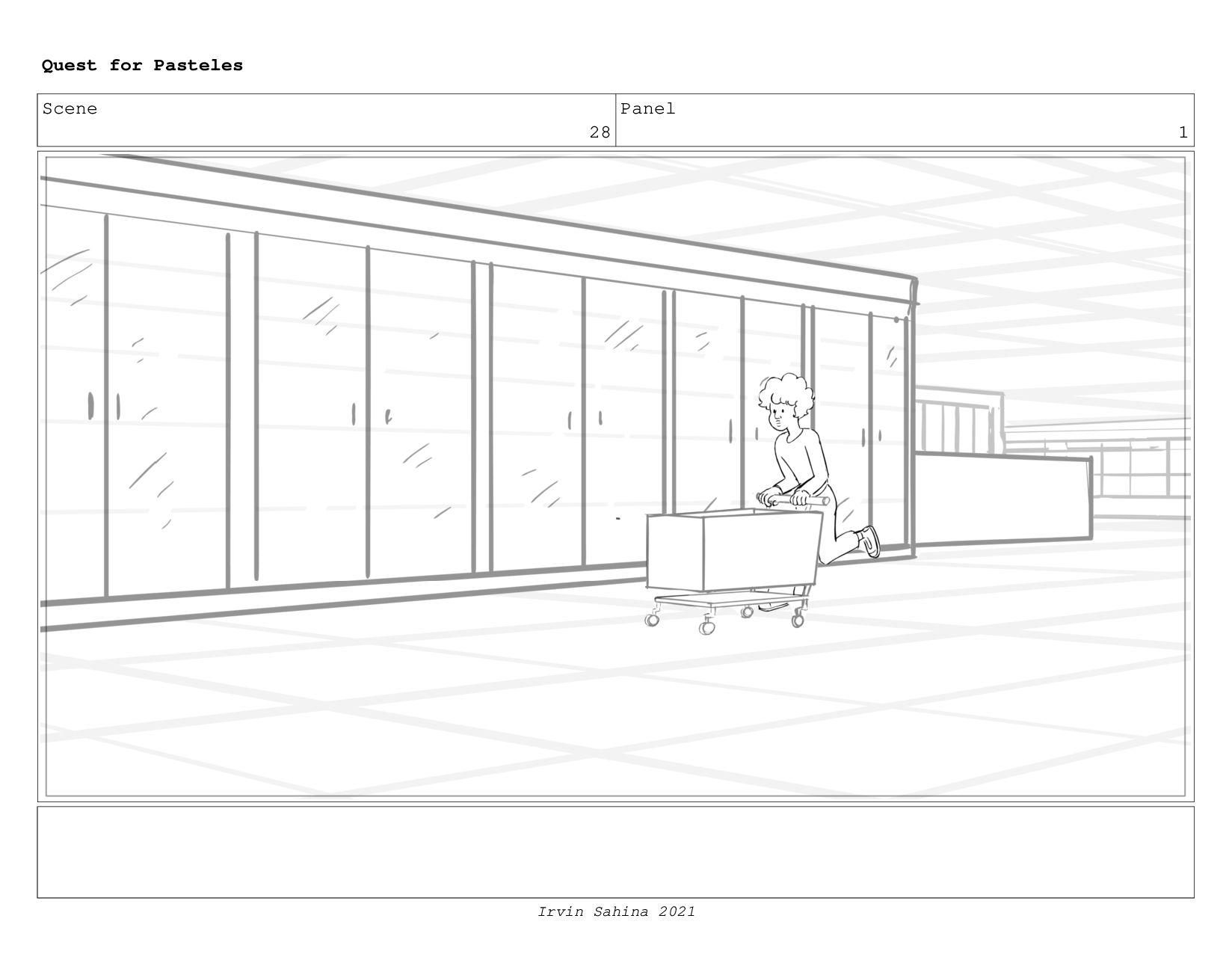 Scene 30 Panel 2 Quest for Pasteles Irvin Sahin...