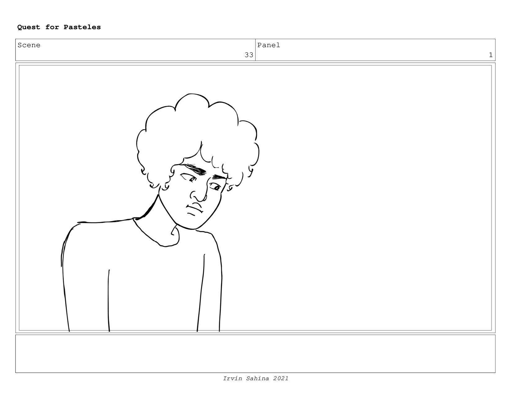 Scene 35 Panel 1 Quest for Pasteles Irvin Sahin...