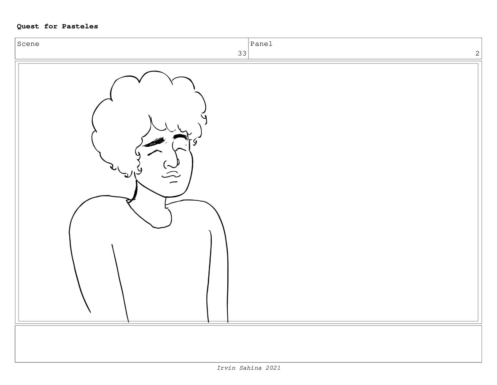 Scene 36 Panel 1 Quest for Pasteles Irvin Sahin...