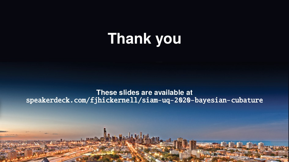 Thank you These slides are available at speaker...
