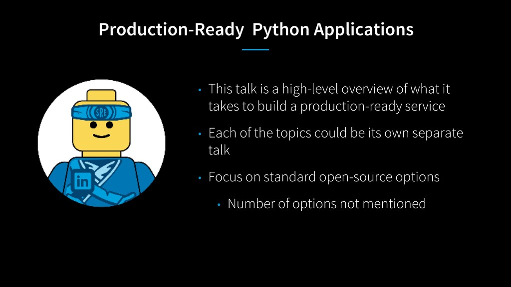 Production-Ready Python Applications • This tal...