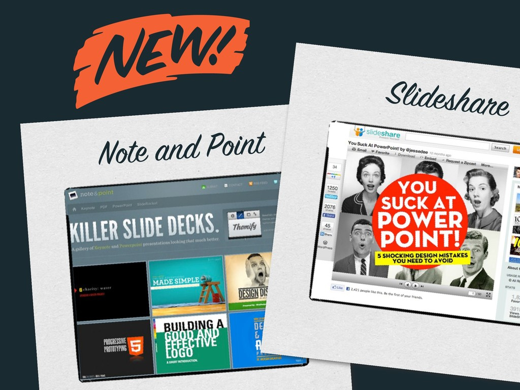 m Note and Point Slideshare