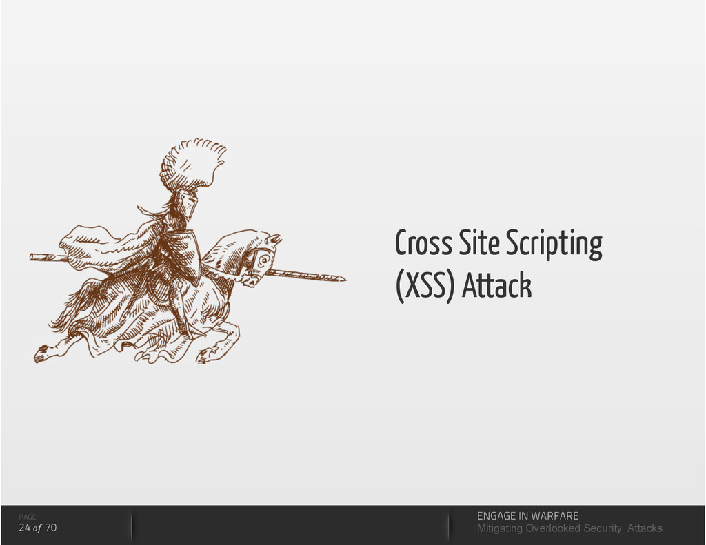 Cross Site Scripting (XSS) Attack PAGE 24 of 70...