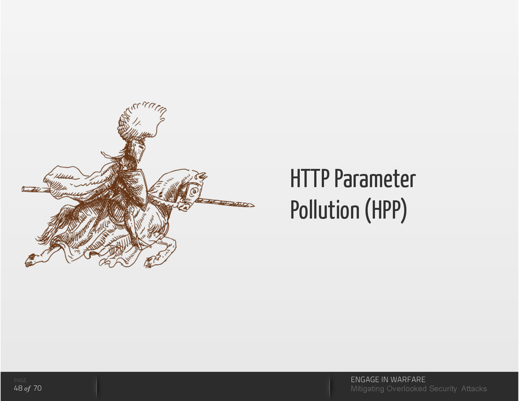 HTTP Parameter Pollution (HPP) PAGE 48 of 70 EN...