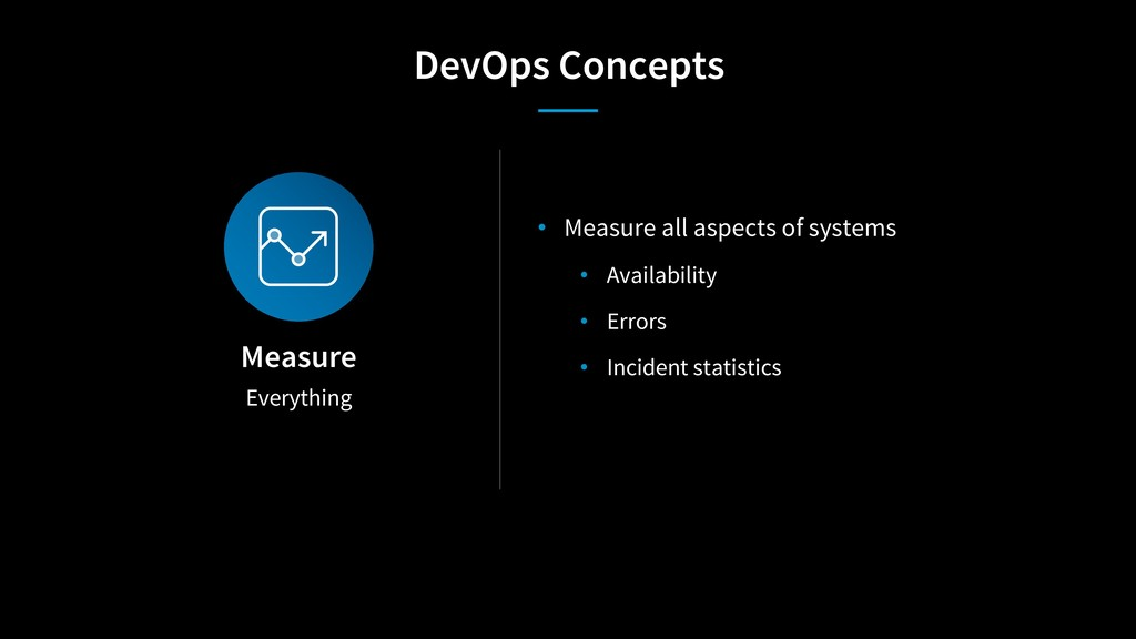 Everything Measure • Measure all aspects of sys...